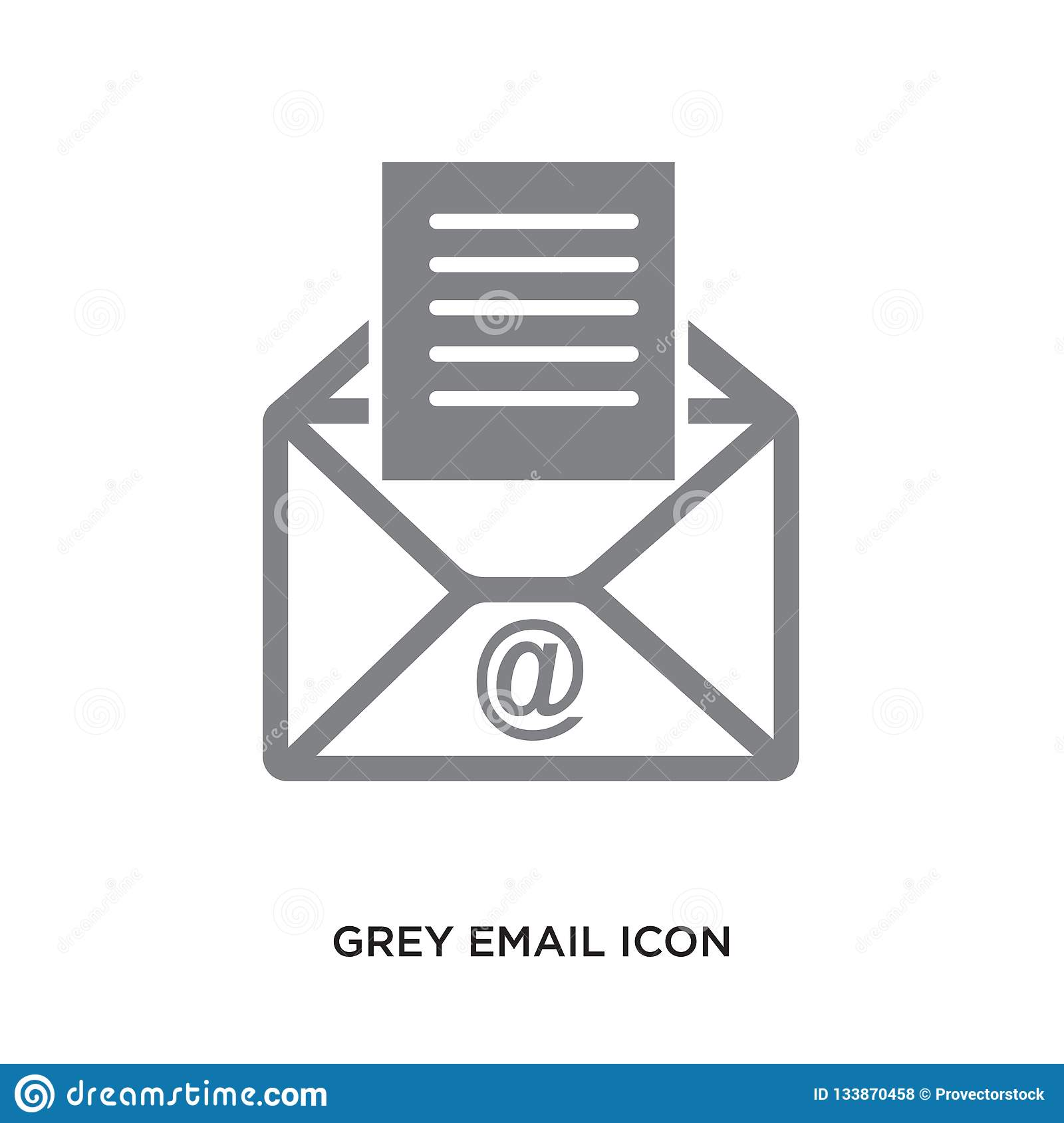Grey Email Icon Stock Illustrations 2 797 Grey Email Icon Stock Illustrations Vectors Clipart Dreamstime