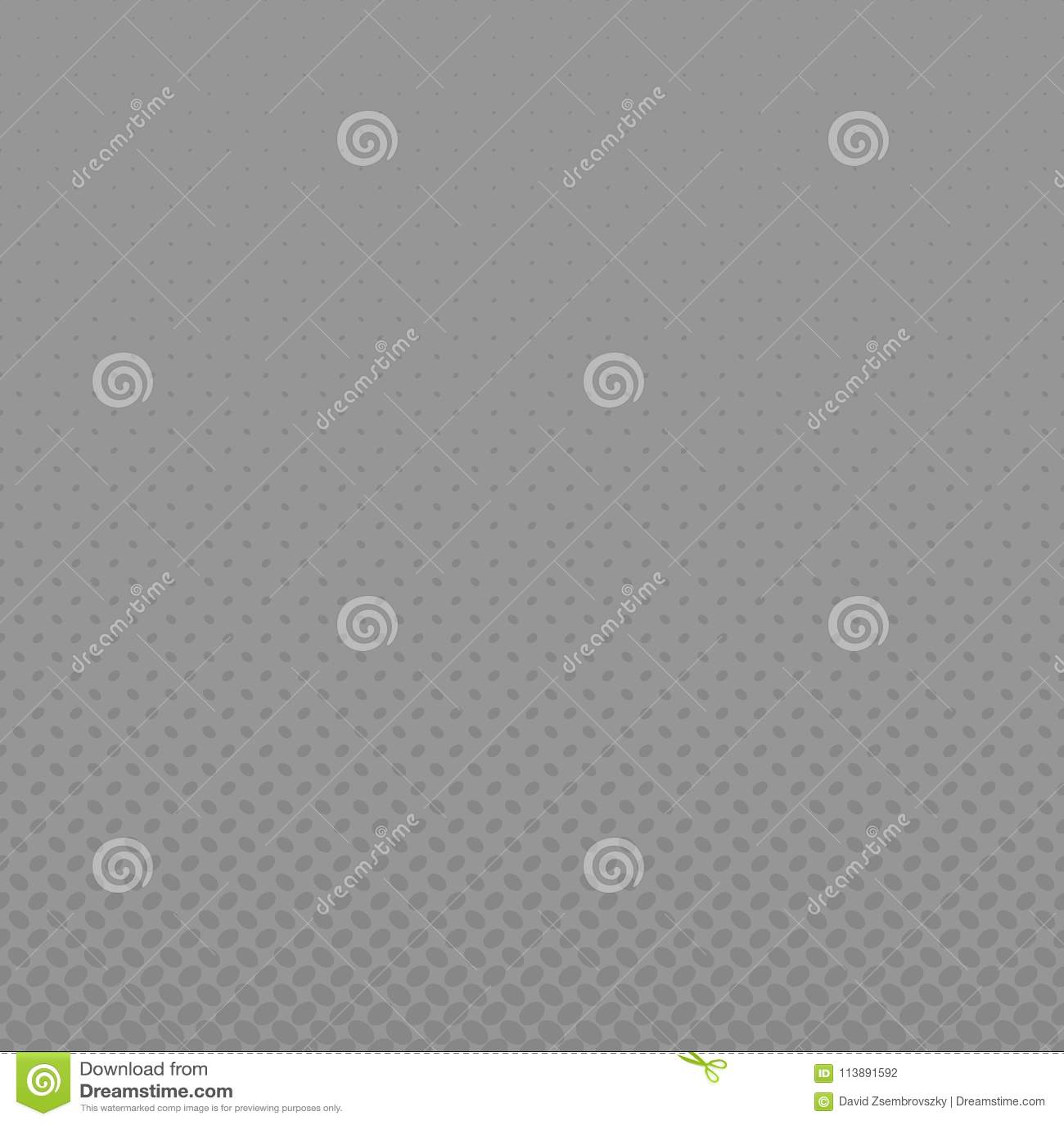 Grey Geometrical Halftone Ellipse Pattern Background Stock Vector ...