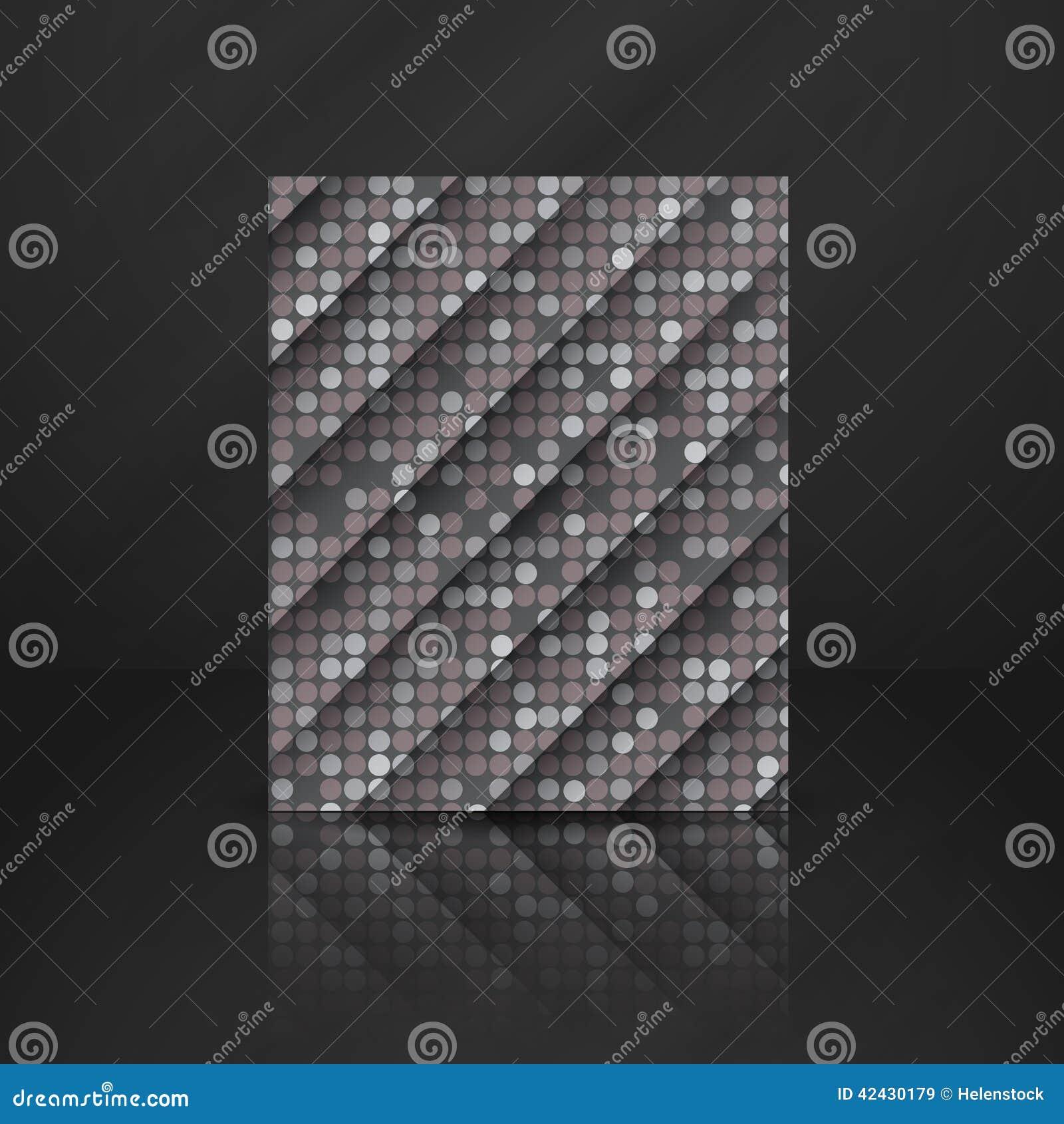 Grey Gquare Tiles Pattern inconsútil