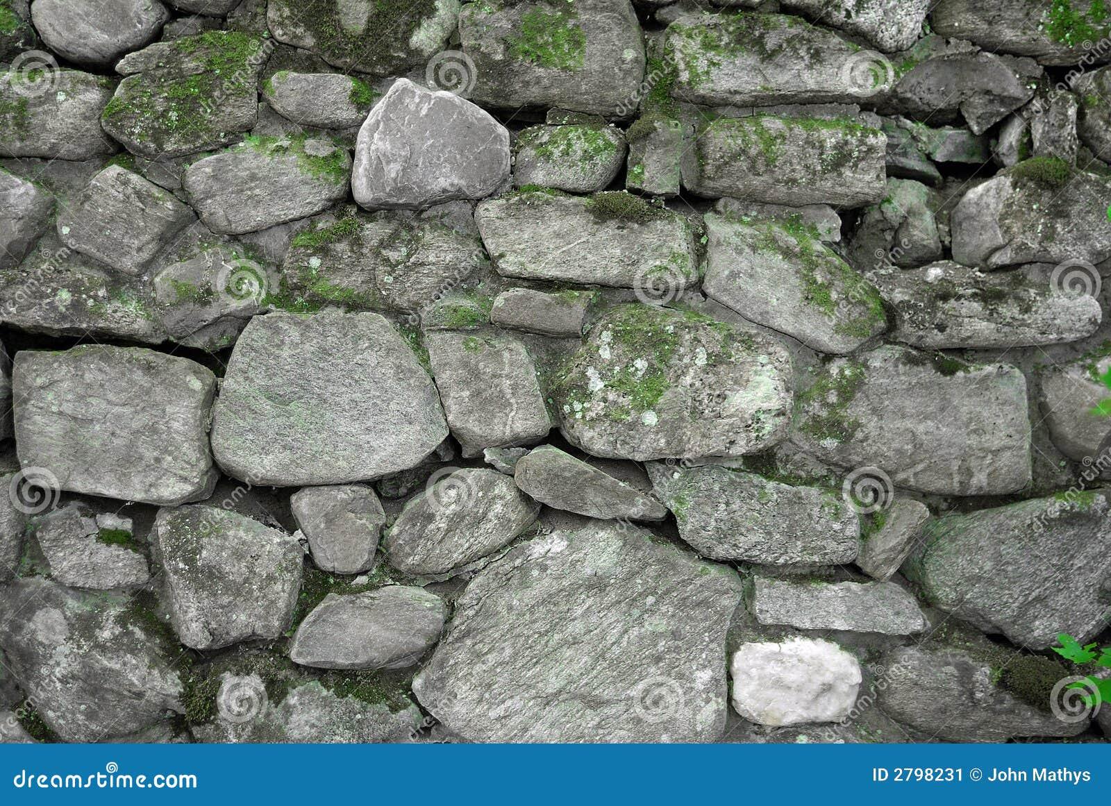 grey and green rock wall stock image image of vegetation 2798231. Black Bedroom Furniture Sets. Home Design Ideas