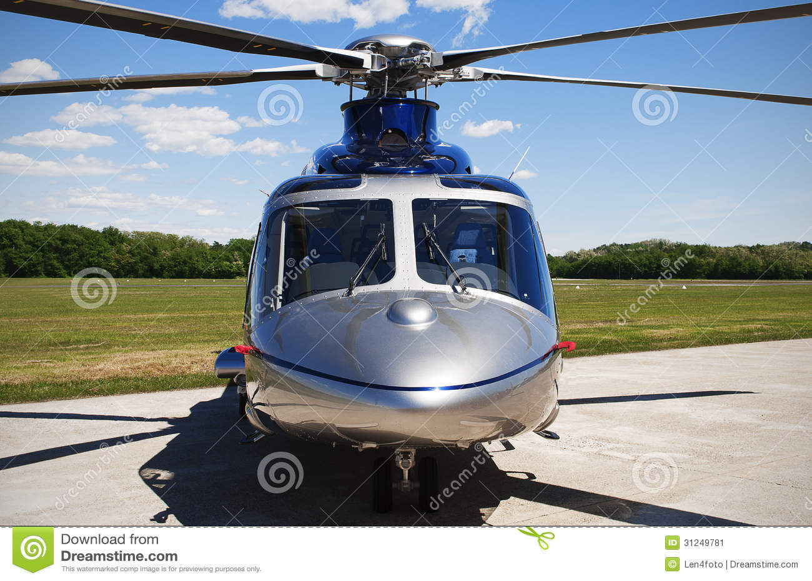 Elicottero Grigio : Grey helicopter stock image