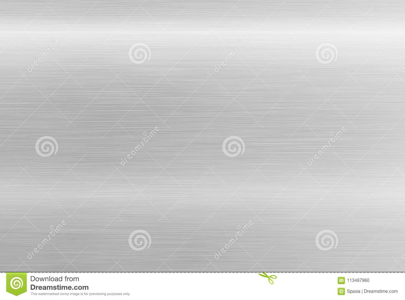 Stainless steel texture. Polished aluminum background
