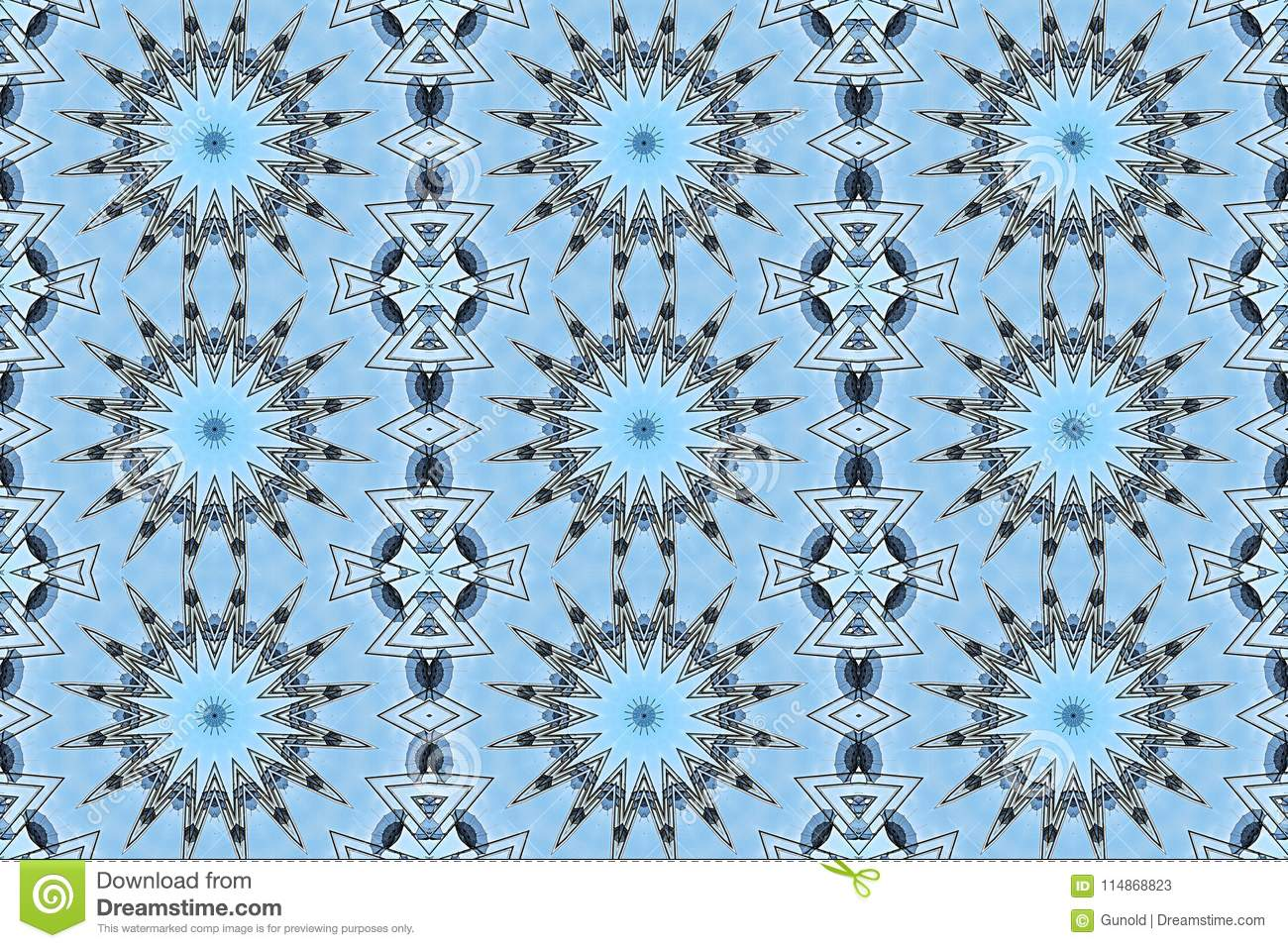 Gift Wrapping Paper For Christmas With Stars Stock Illustration Illustration Of Chaos Christmas 114868823