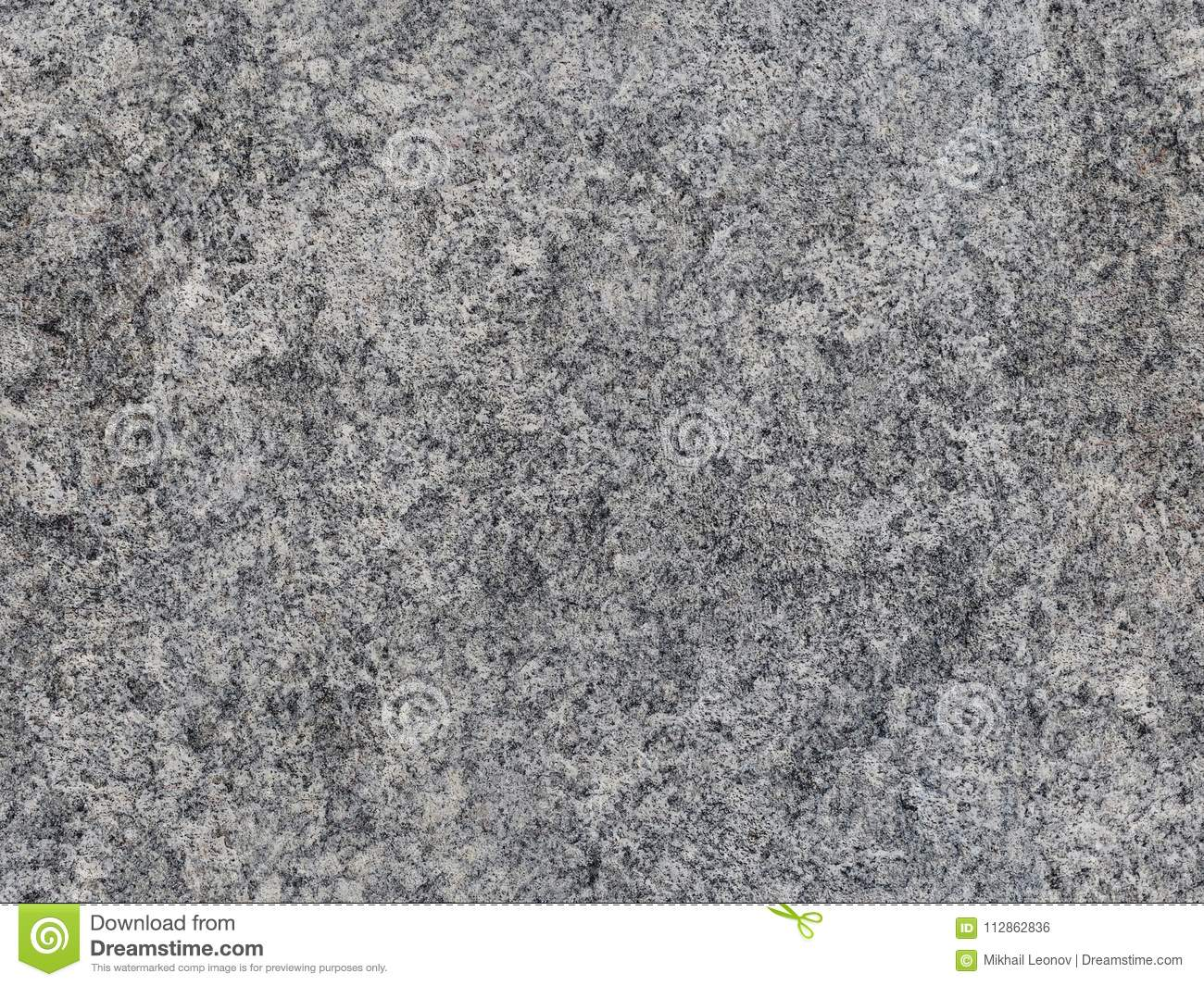 Grey natural raw seamless granite stone texture pattern background. Rough natural stone seamless texture surface with cracks, dent