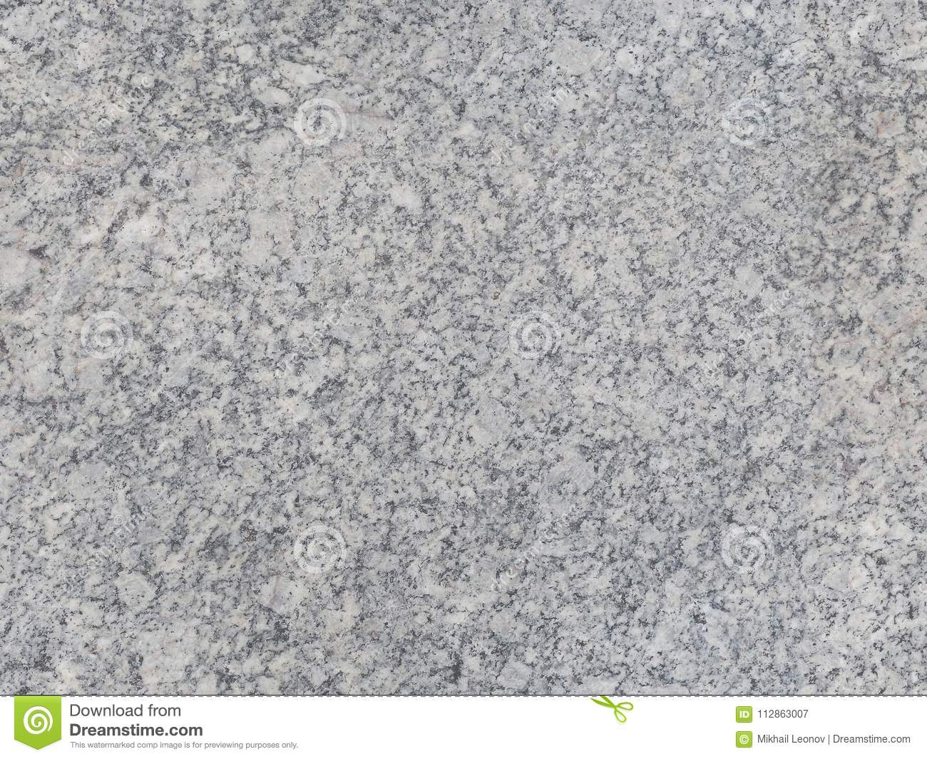 Grey Natural Seamless Granite Stone Texture Pattern Background