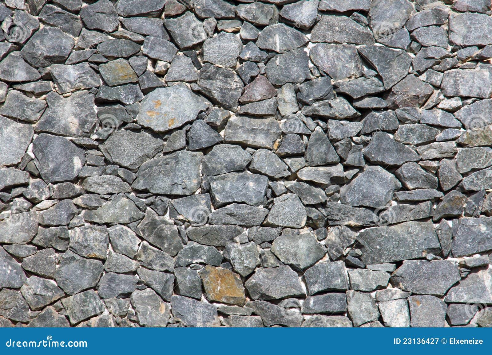 Grey natural stone wall royalty free stock photography - Muros de piedra natural ...