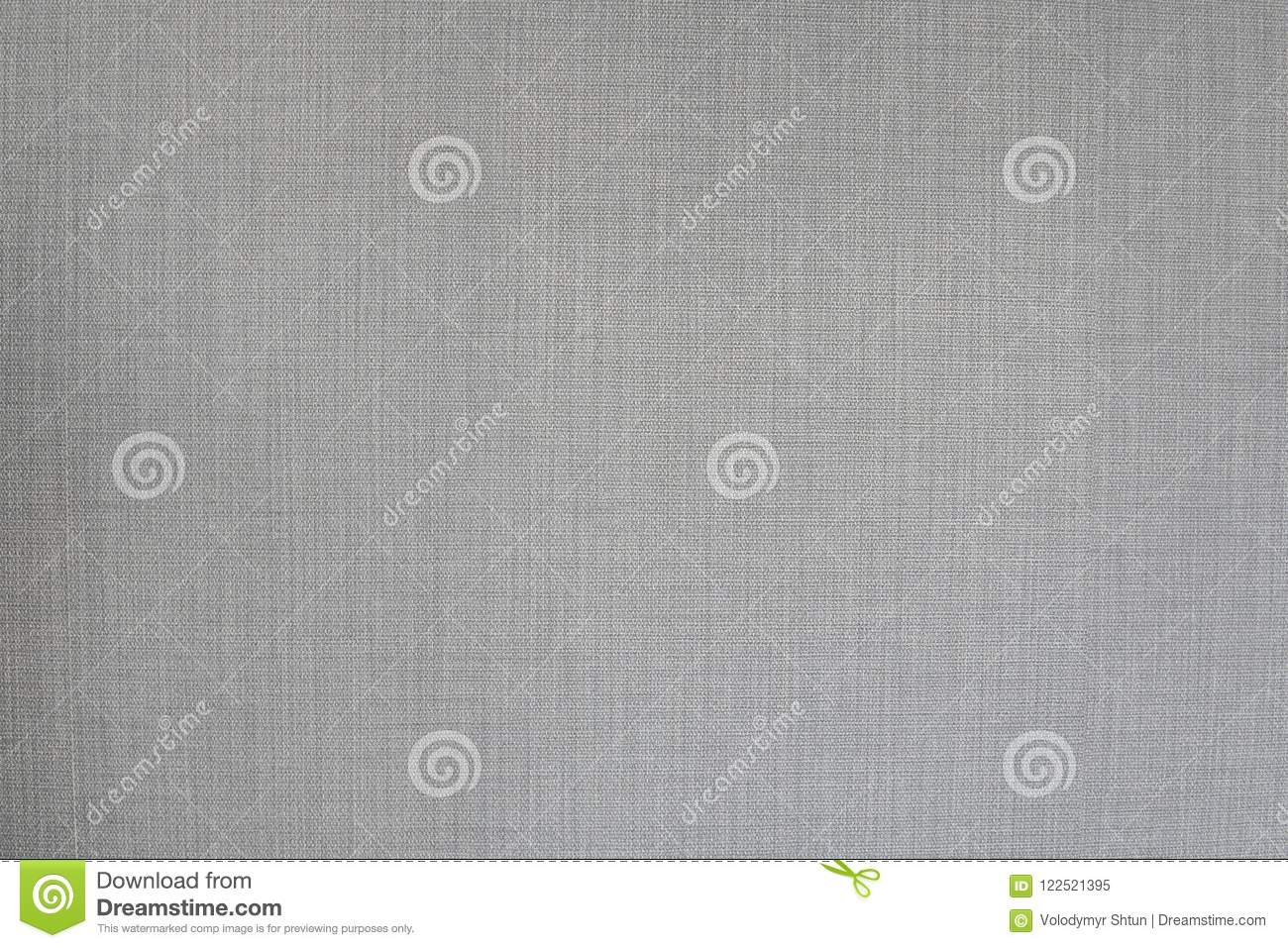Grey neutral textile texture, often used for furniture covers, pillows, chairs or sofas.