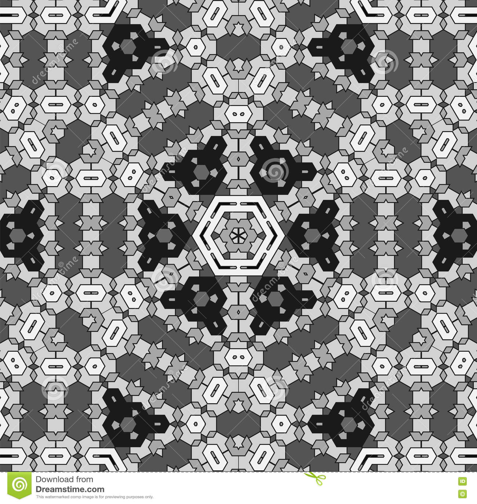Grey Pattern decorativo criativo
