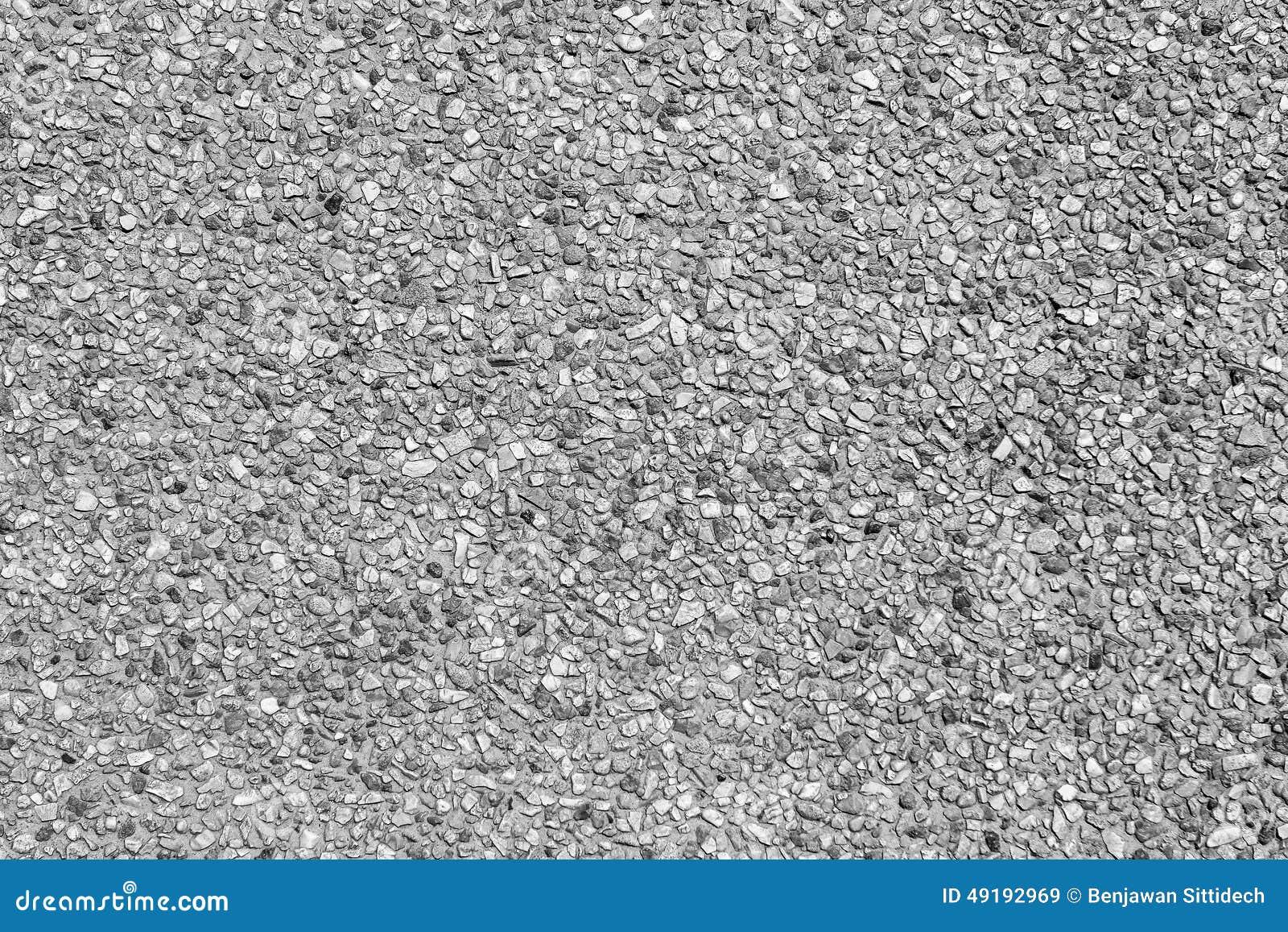 Grey Pebble Stone Floor Texture Background Stock Image
