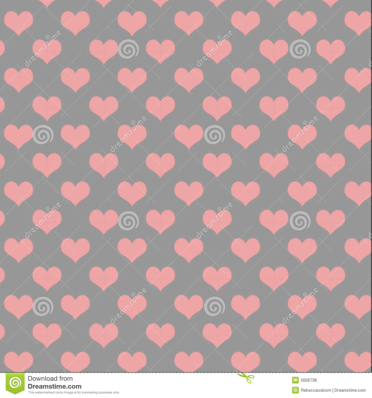 Gray And Pink Hearts: Grey And Pink Heart Pattern Royalty Free Stock Photos