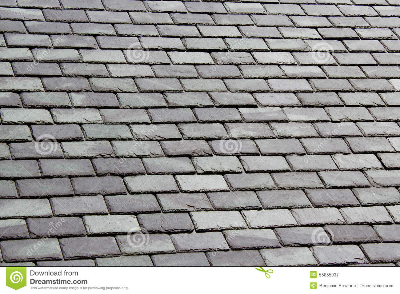 Grey Slate Tile Roof