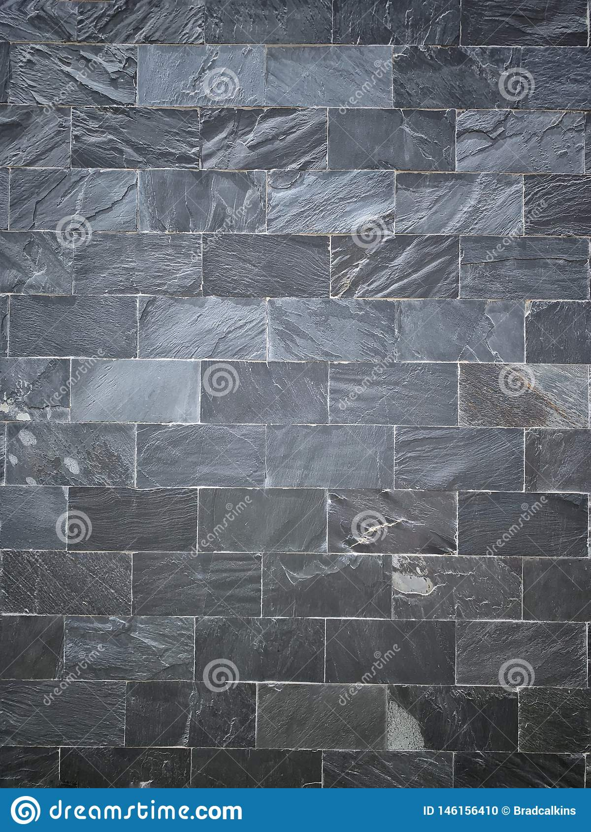 Grey slate wall background texture
