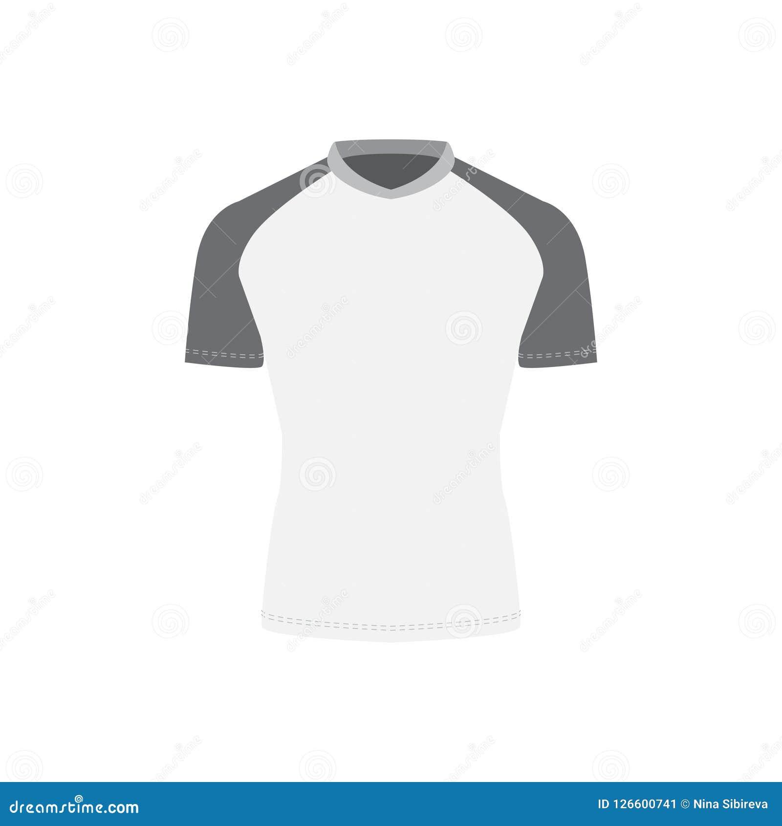 Grey sportswear mockup stock illustration  Illustration of