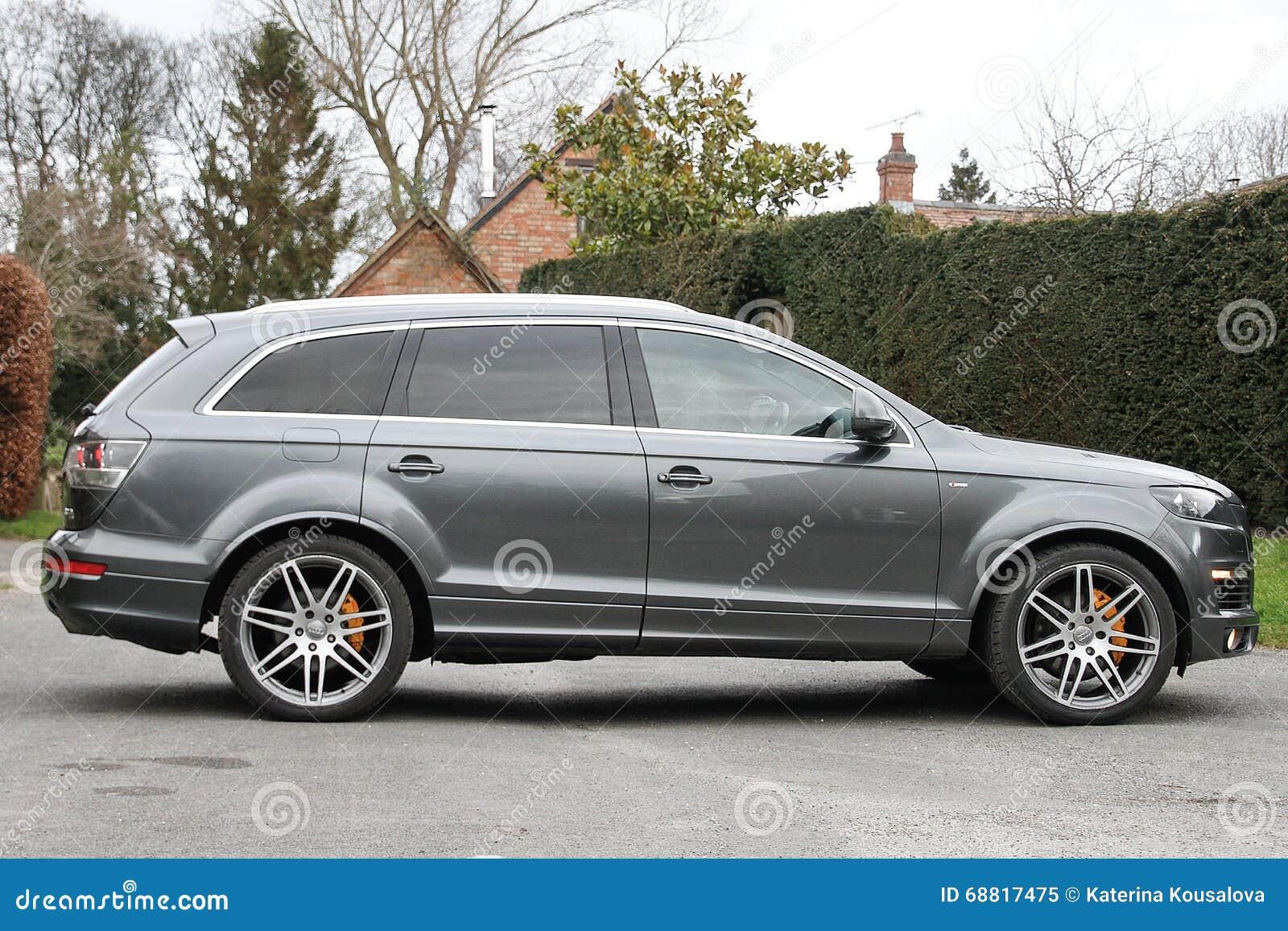 Grey Suv Audi Editorial Image Image