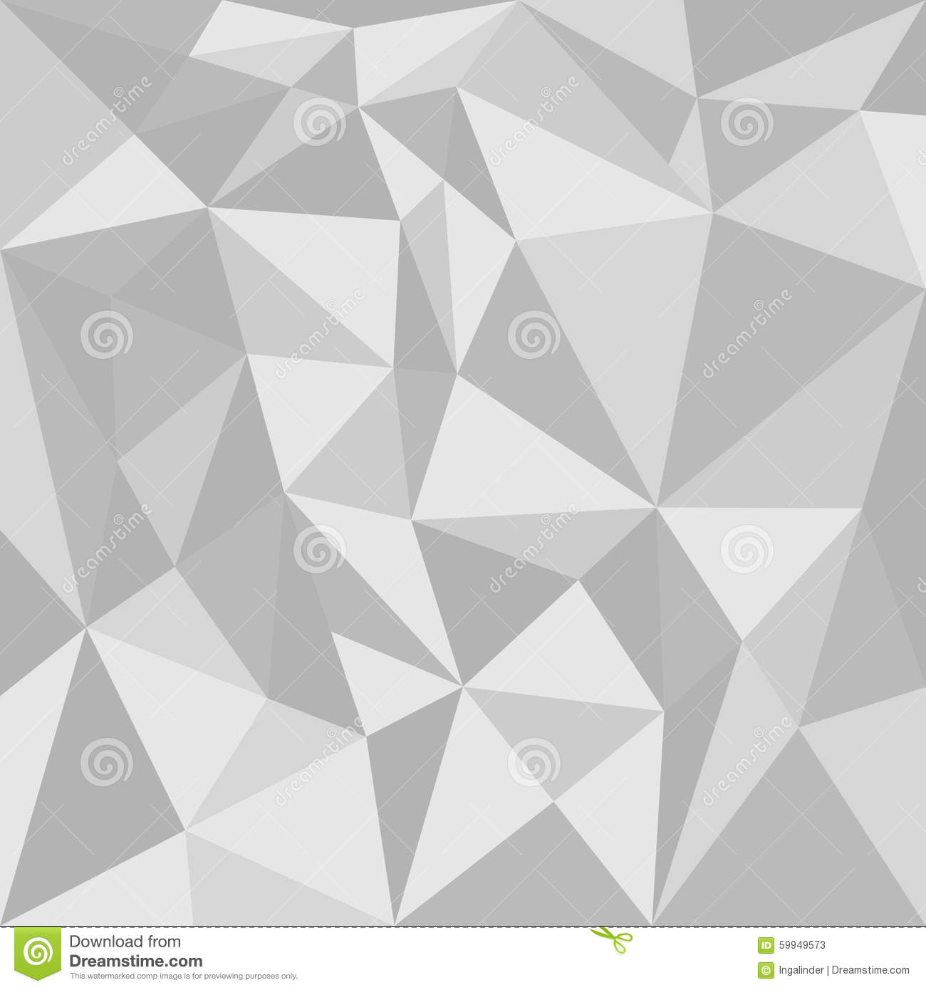 Grey Triangle Vector Background Stock Vector - Image: 59949573