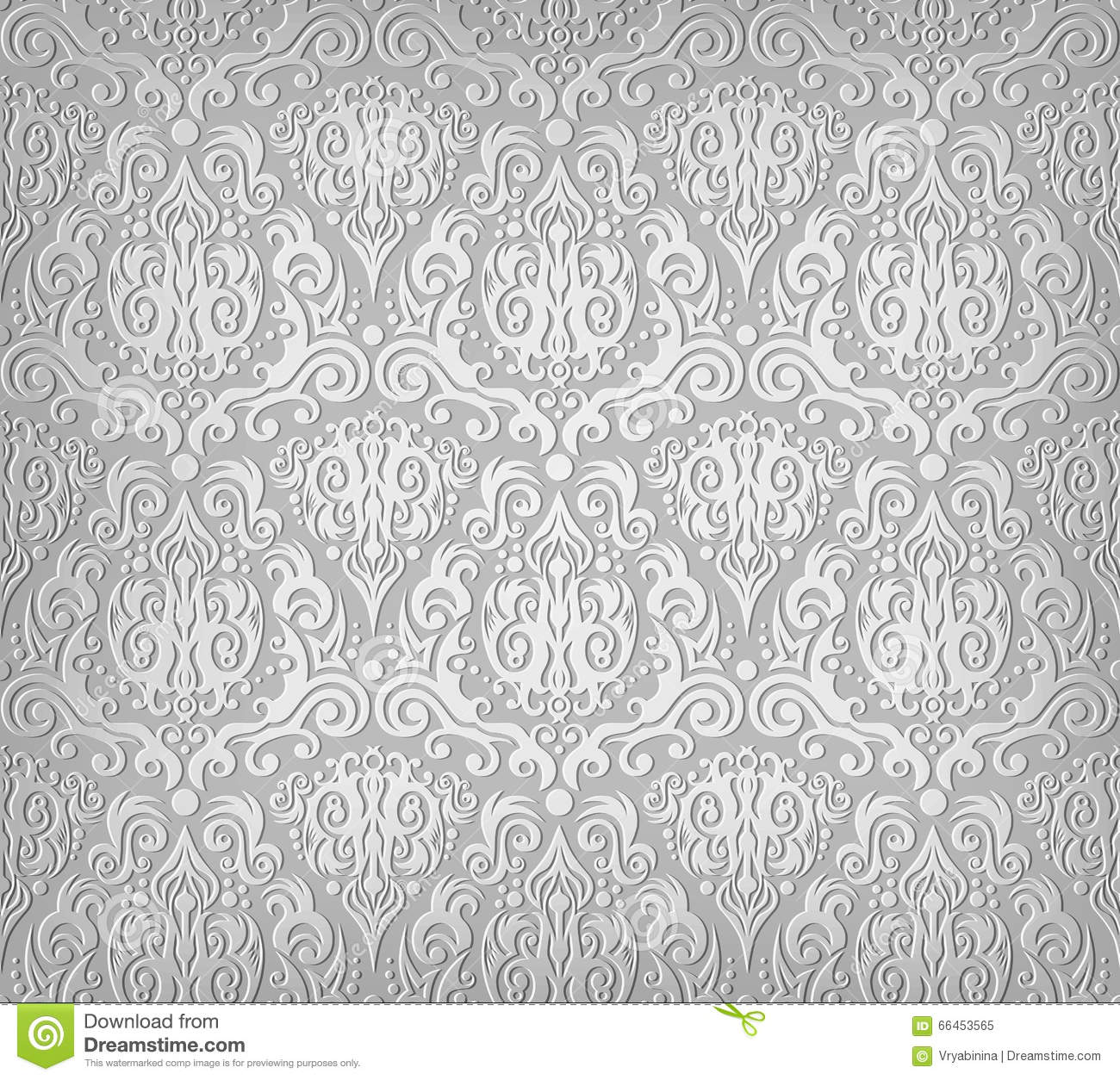 grey wallpaper pattern stock vector image of ornamental