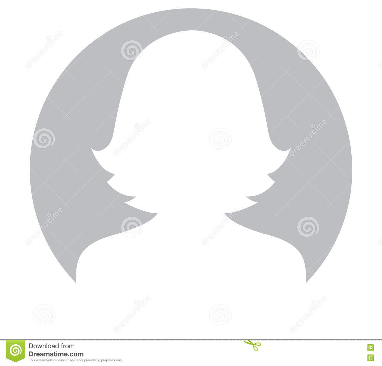 Grey Woman Avatar