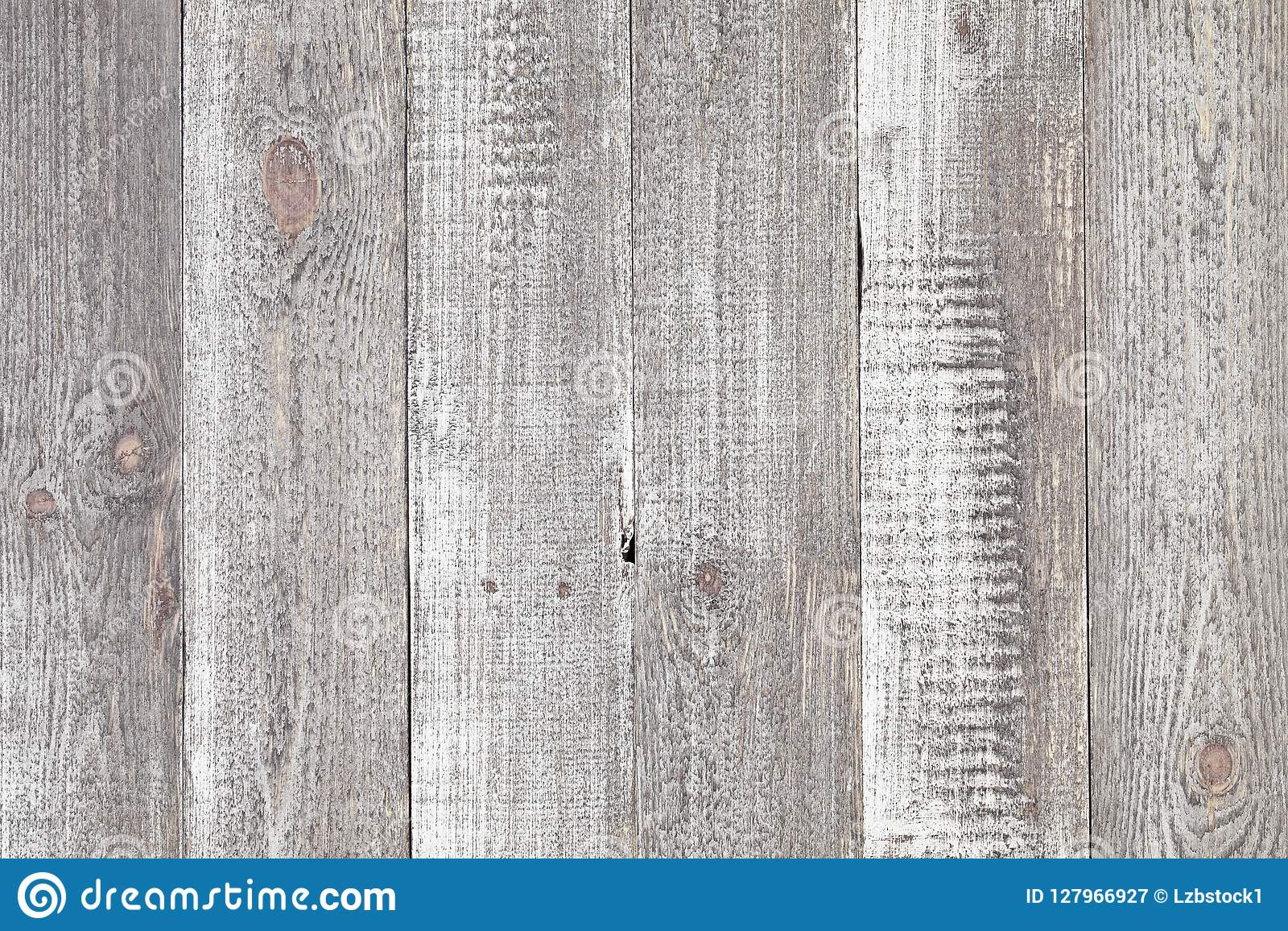 Grey wooden table background. Close up of rustic grey wood table