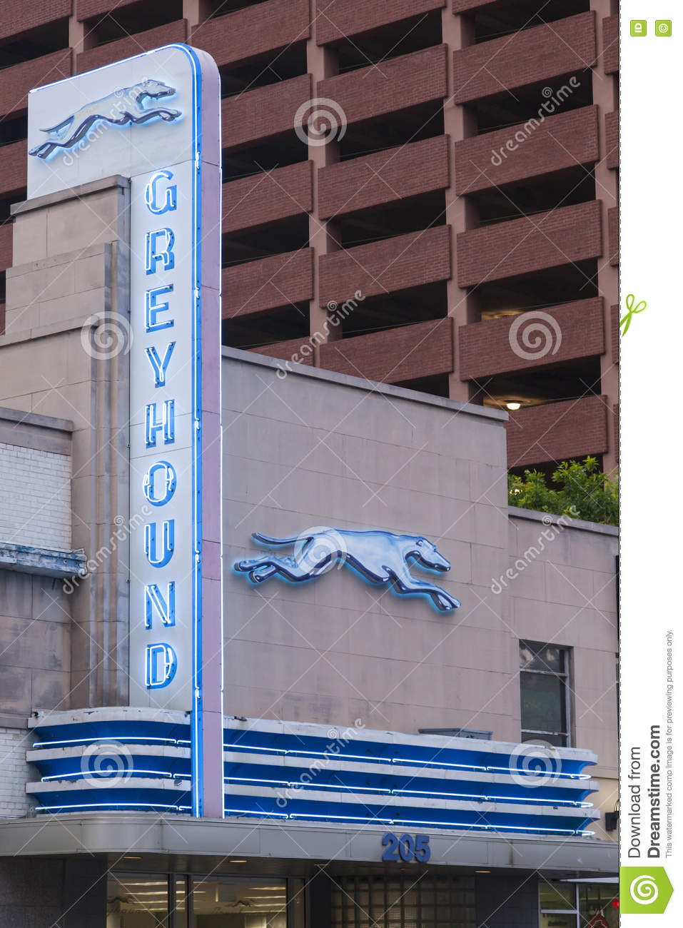 Greyhound Bus Station In Dallas Editorial Stock Photo ...