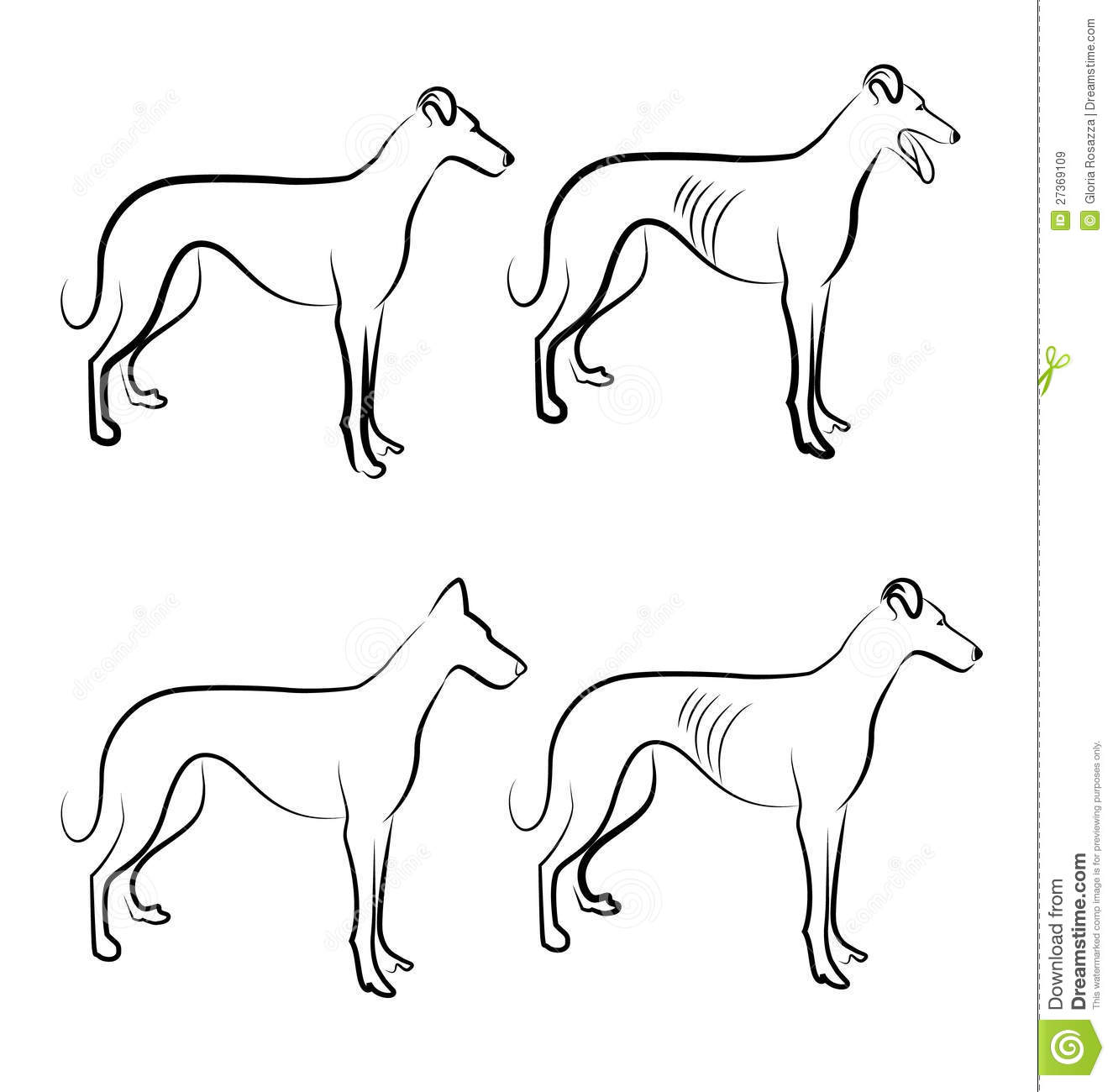 Displaying 19> Images For - Greyhound Head Clipart...