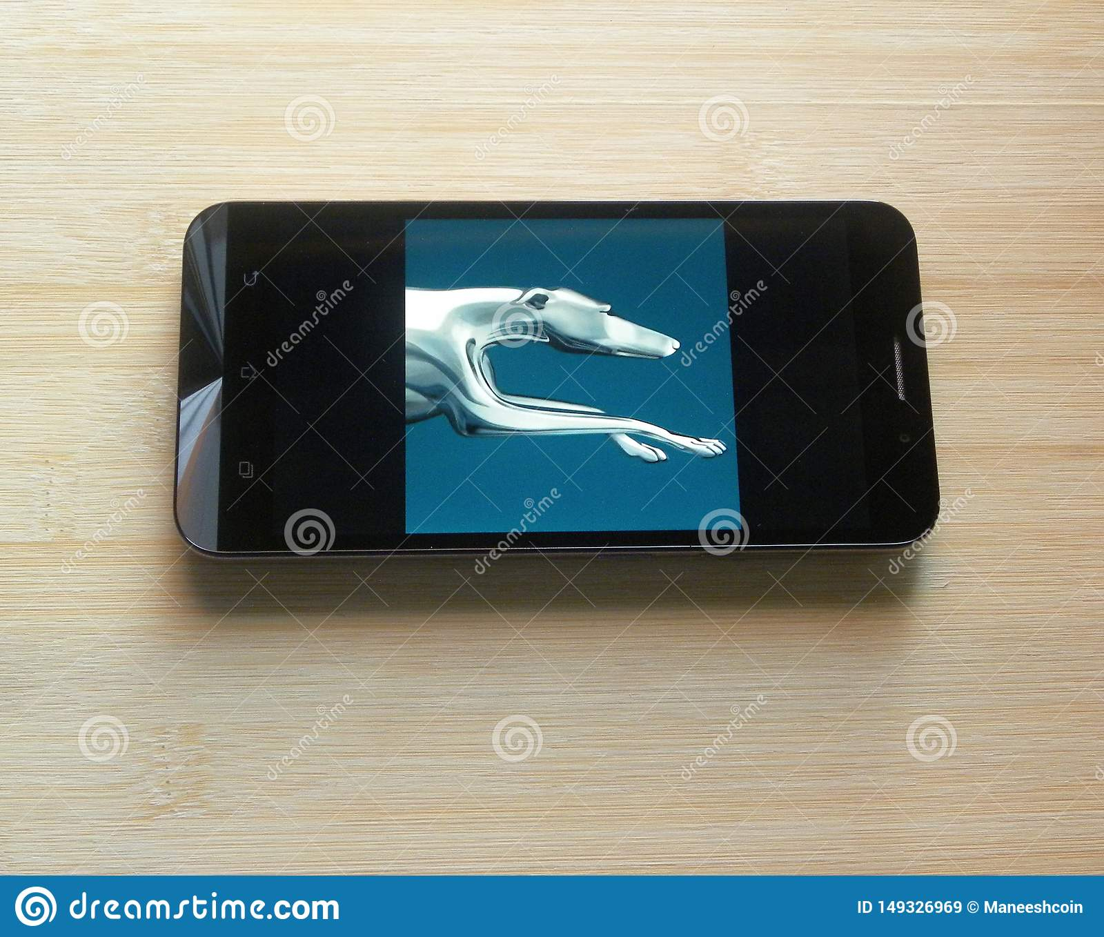 Greyhound Lines app editorial stock image. Image of ...