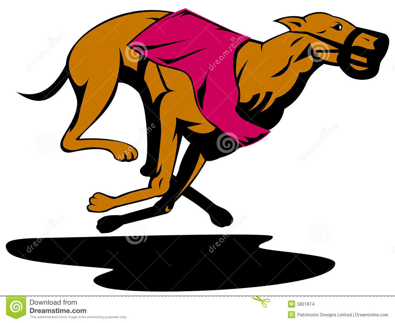 Todd Clipart 20 Fee Cliparts Download Imagenes: Greyhound Racing Stock Vector. Image Of Racing, Vector