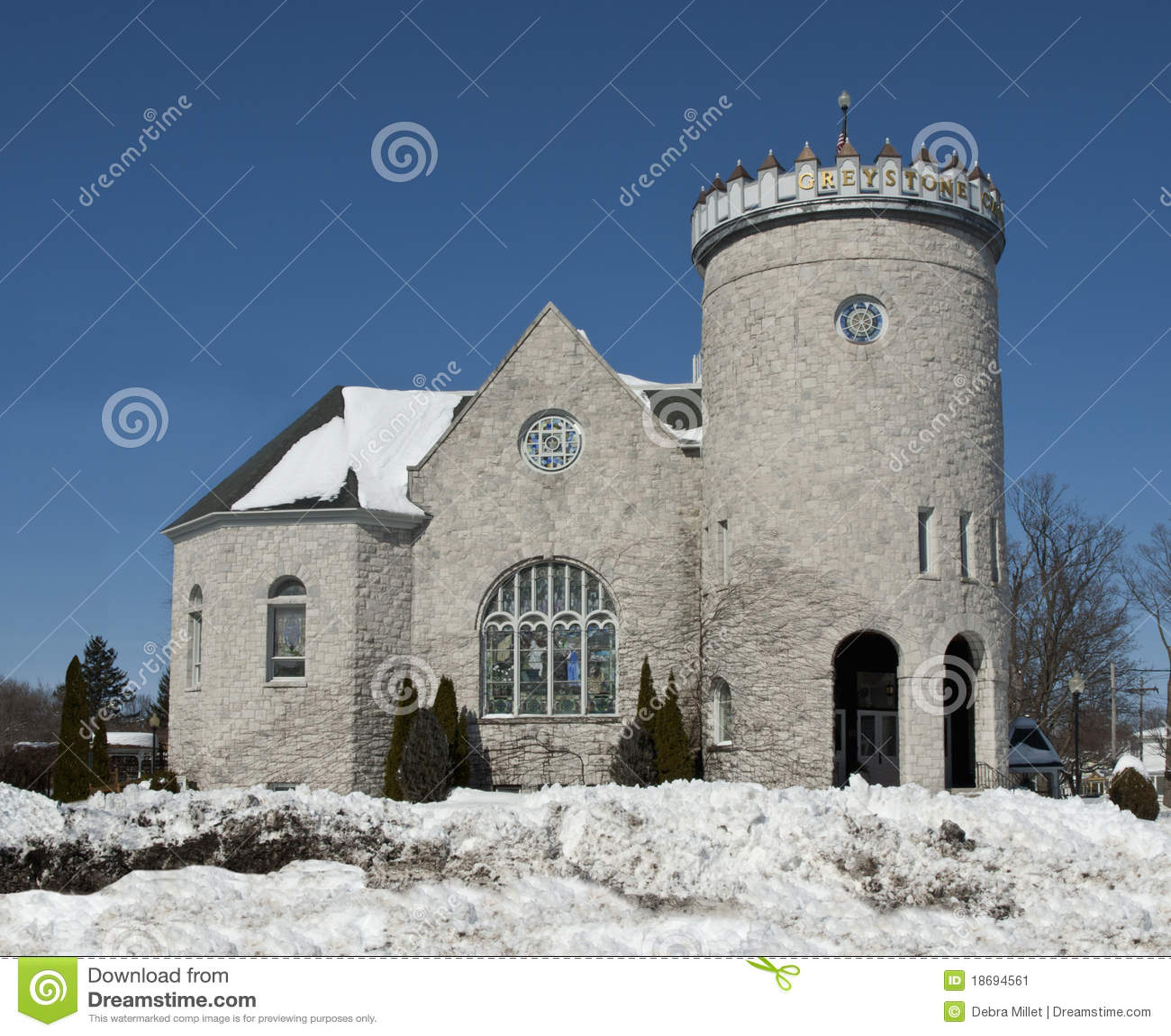 Greystone castle stock image image 18694561 for The greystone