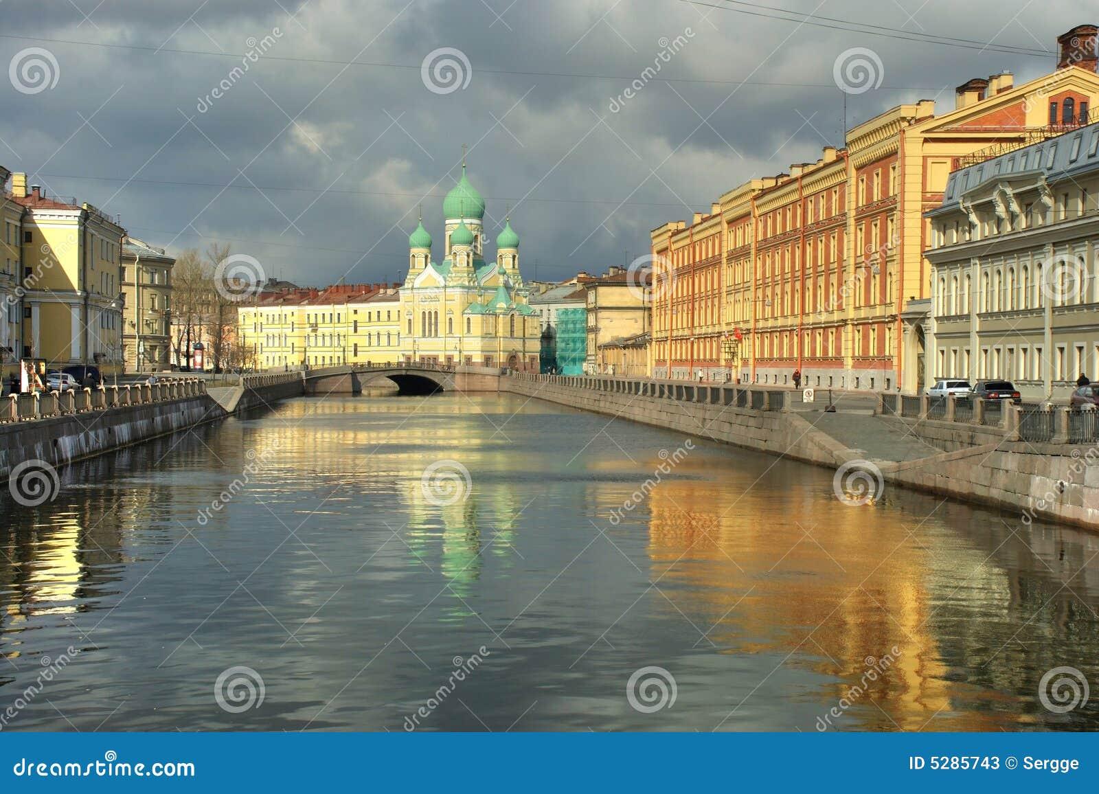 Griboedov channel Petersburg
