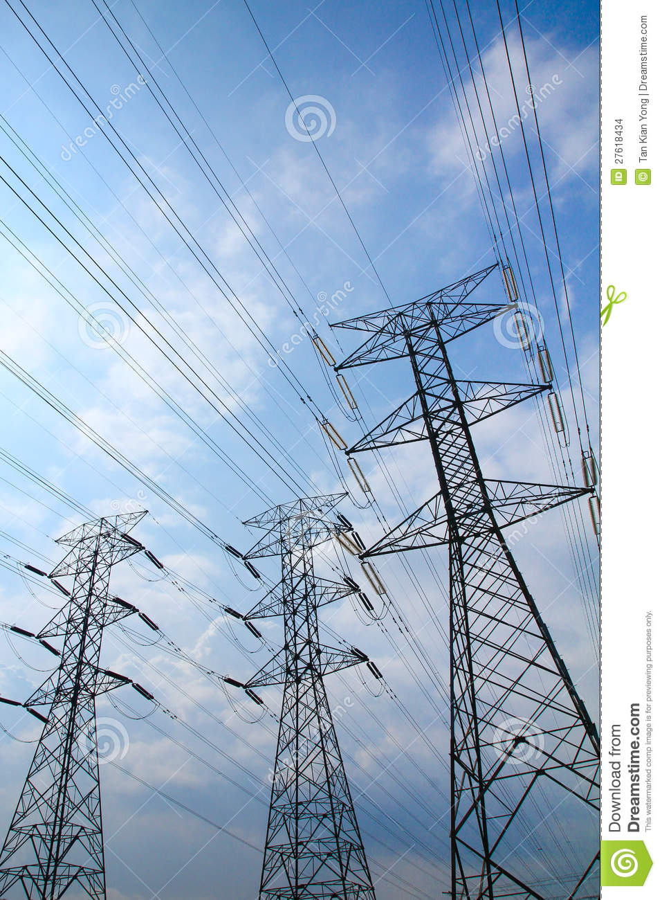 grid electricity transmission towers stock images image electrical power grid