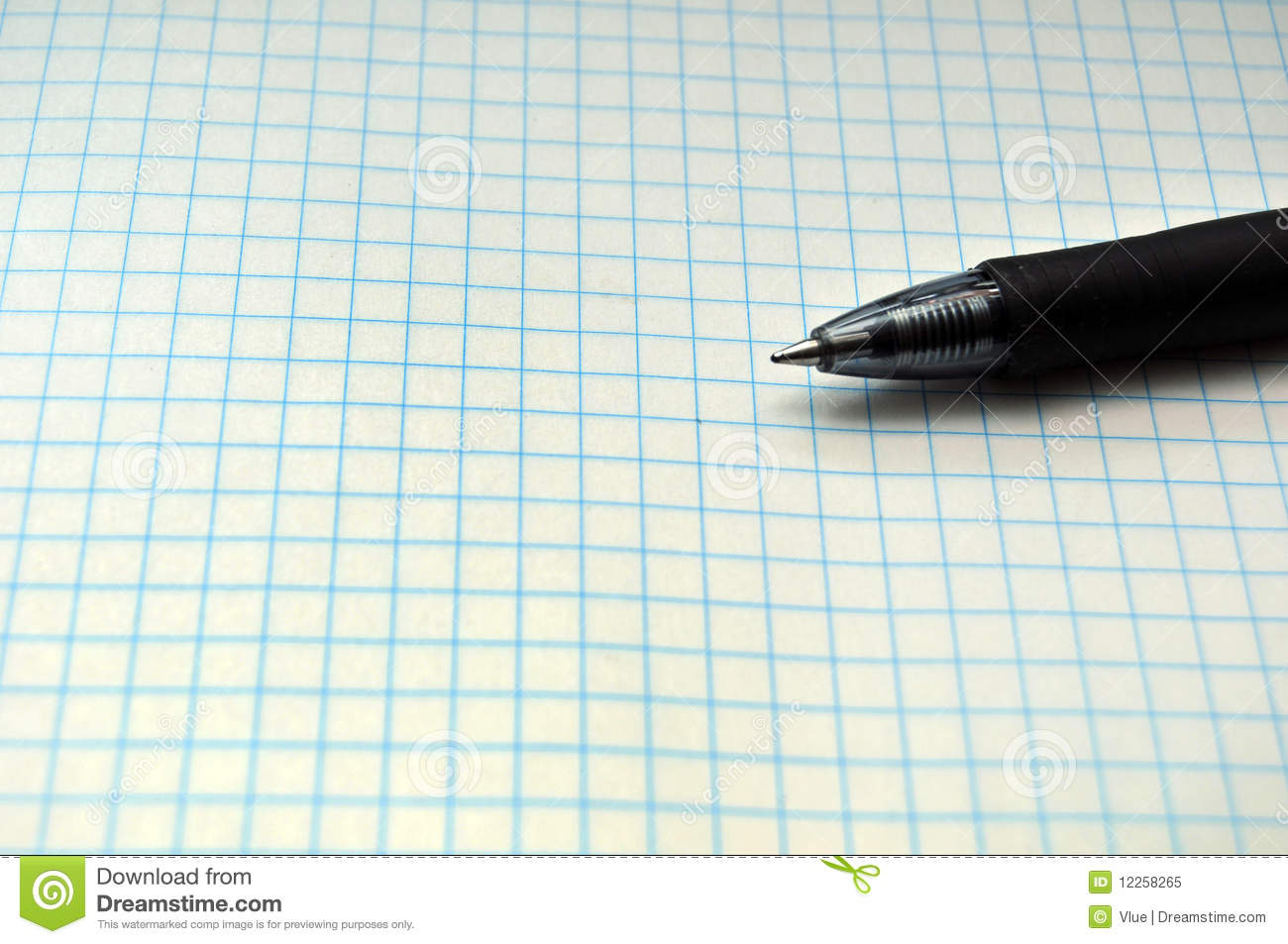 grid paper with pen stock image image of abstract architecture