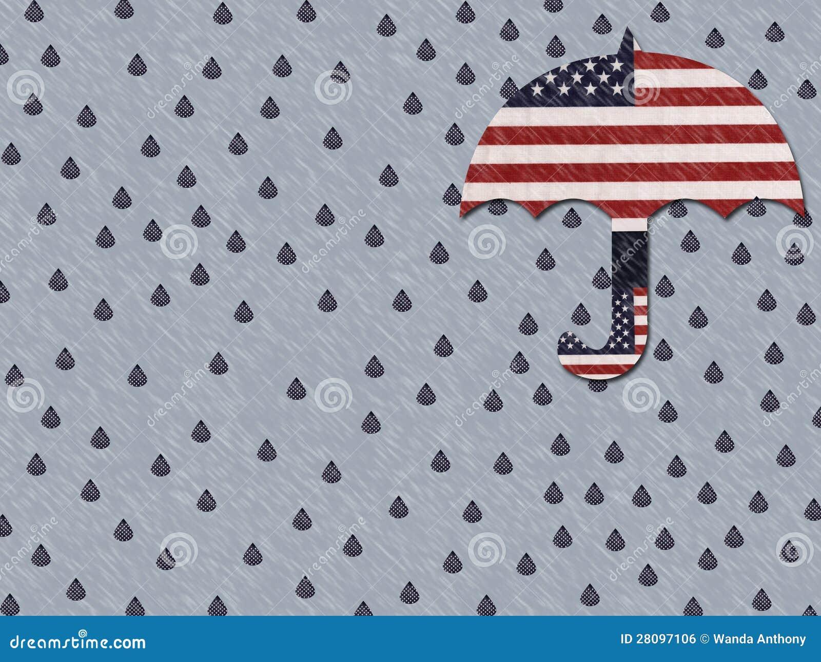 Gridando per l America venente a mancare