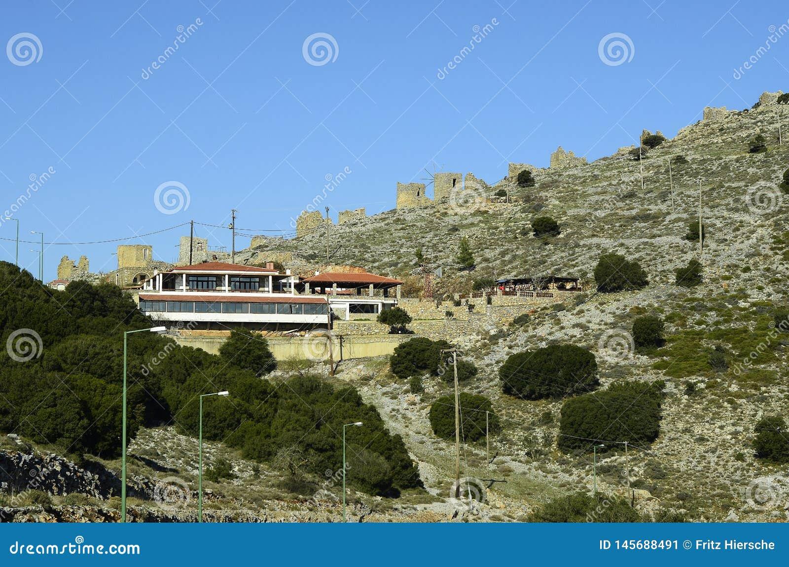 Griekenland, Kreta, Ambelos-Pas