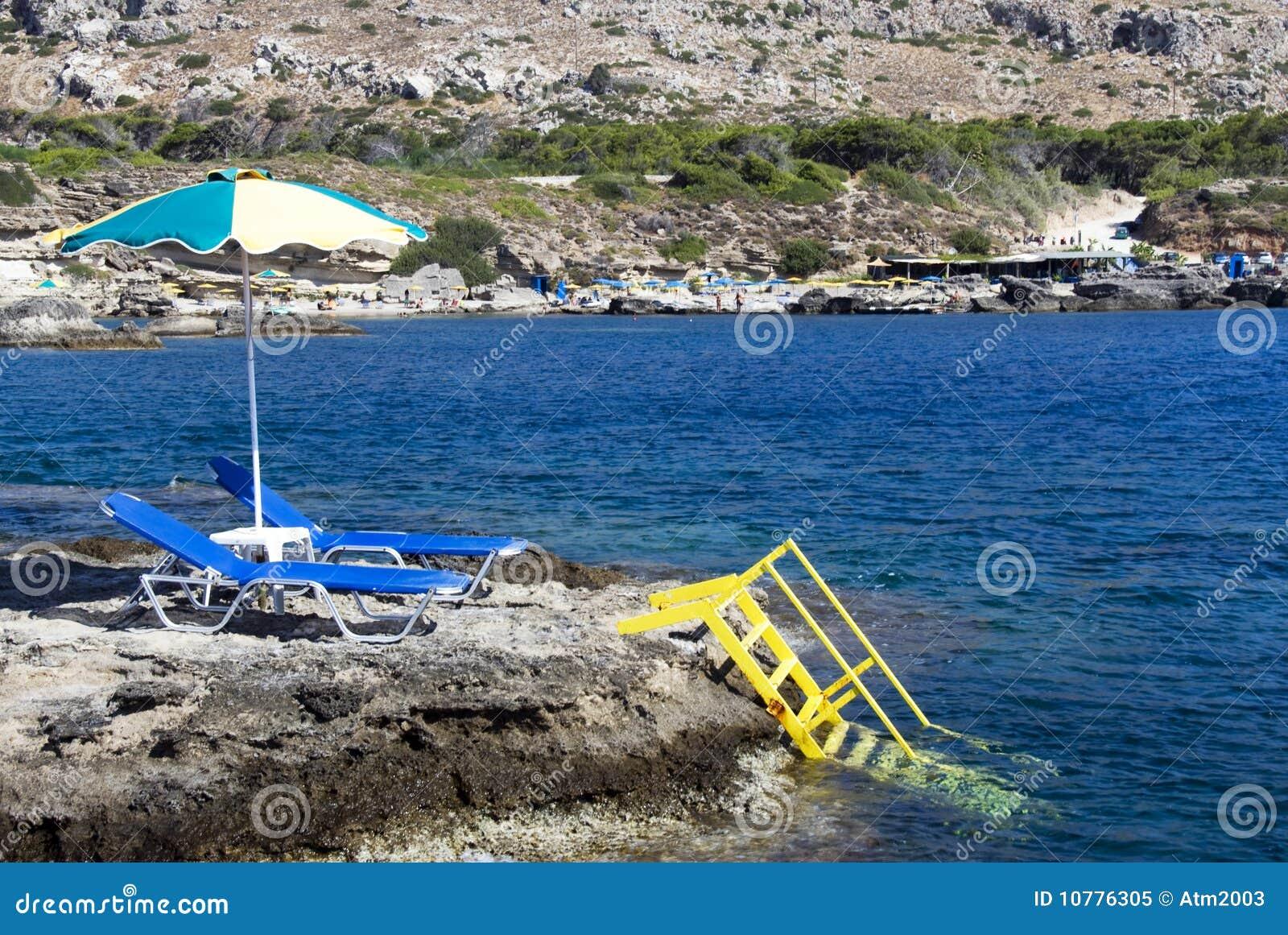Grieks strand