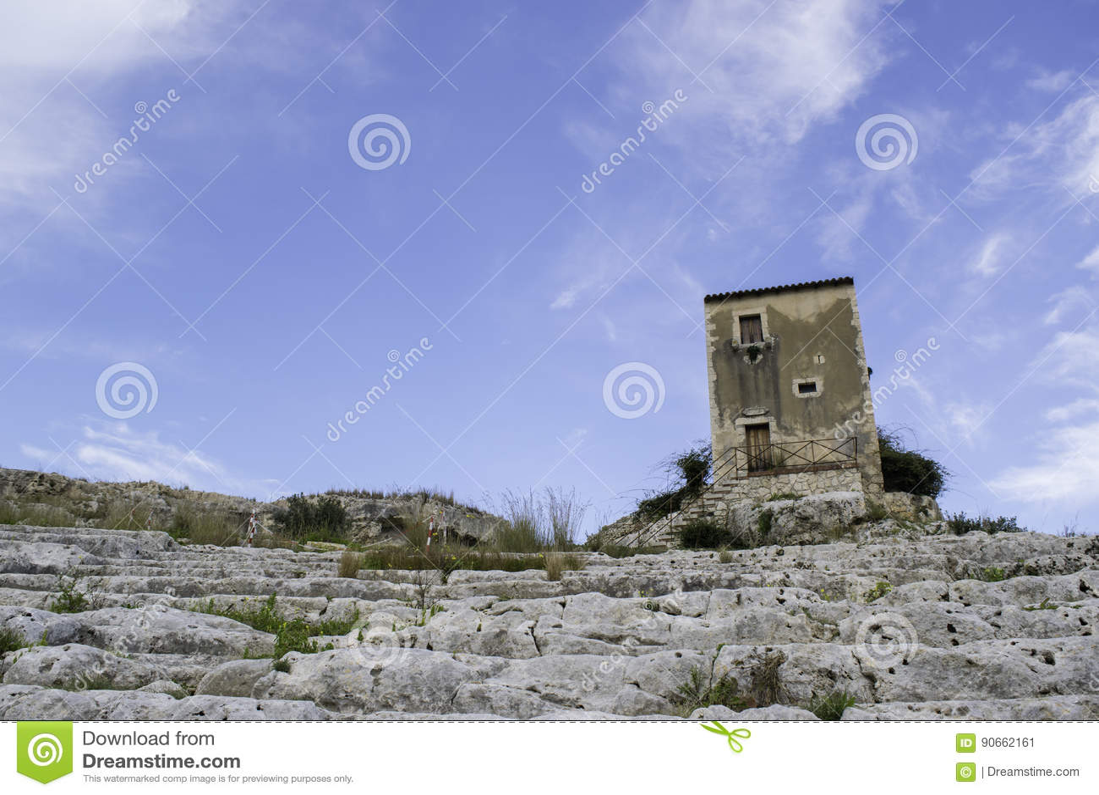 Grieks theater in Sicilië
