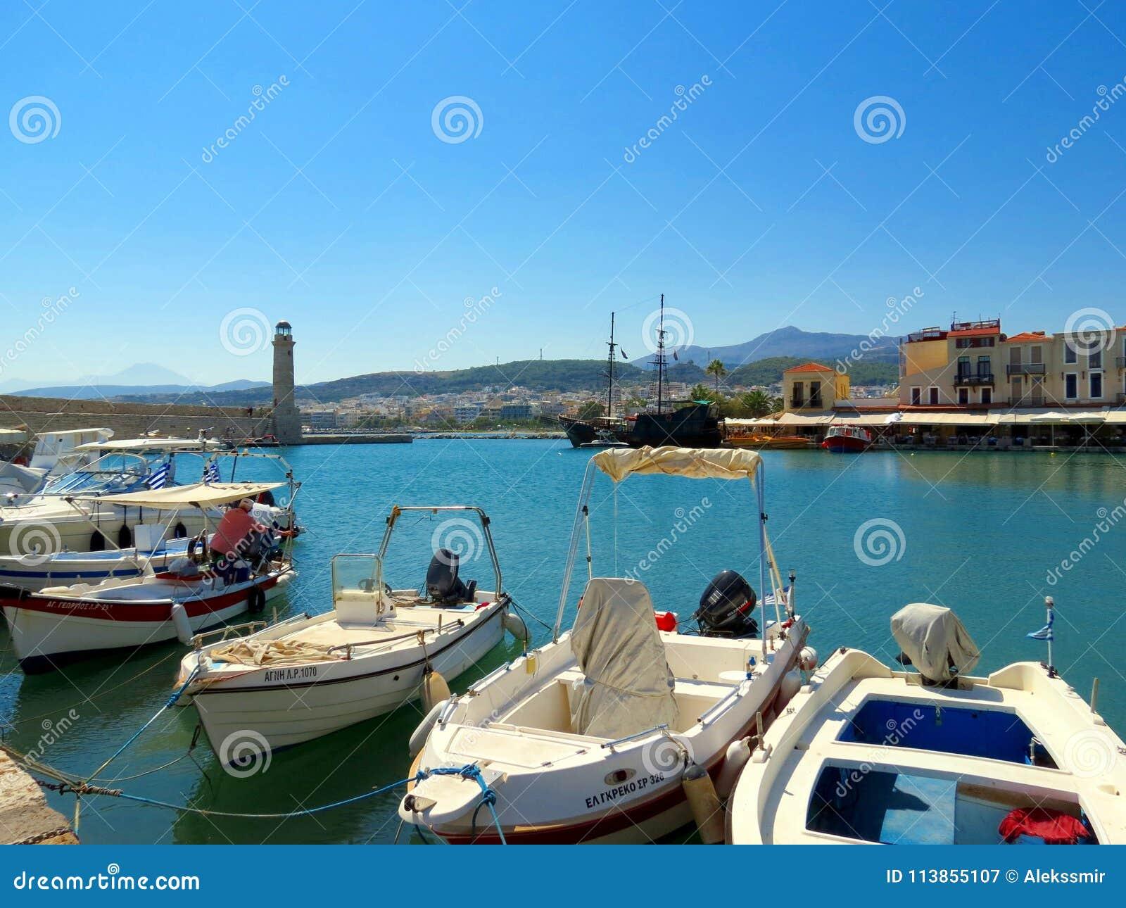 Grieks Venetië - de stad van Rethymnon
