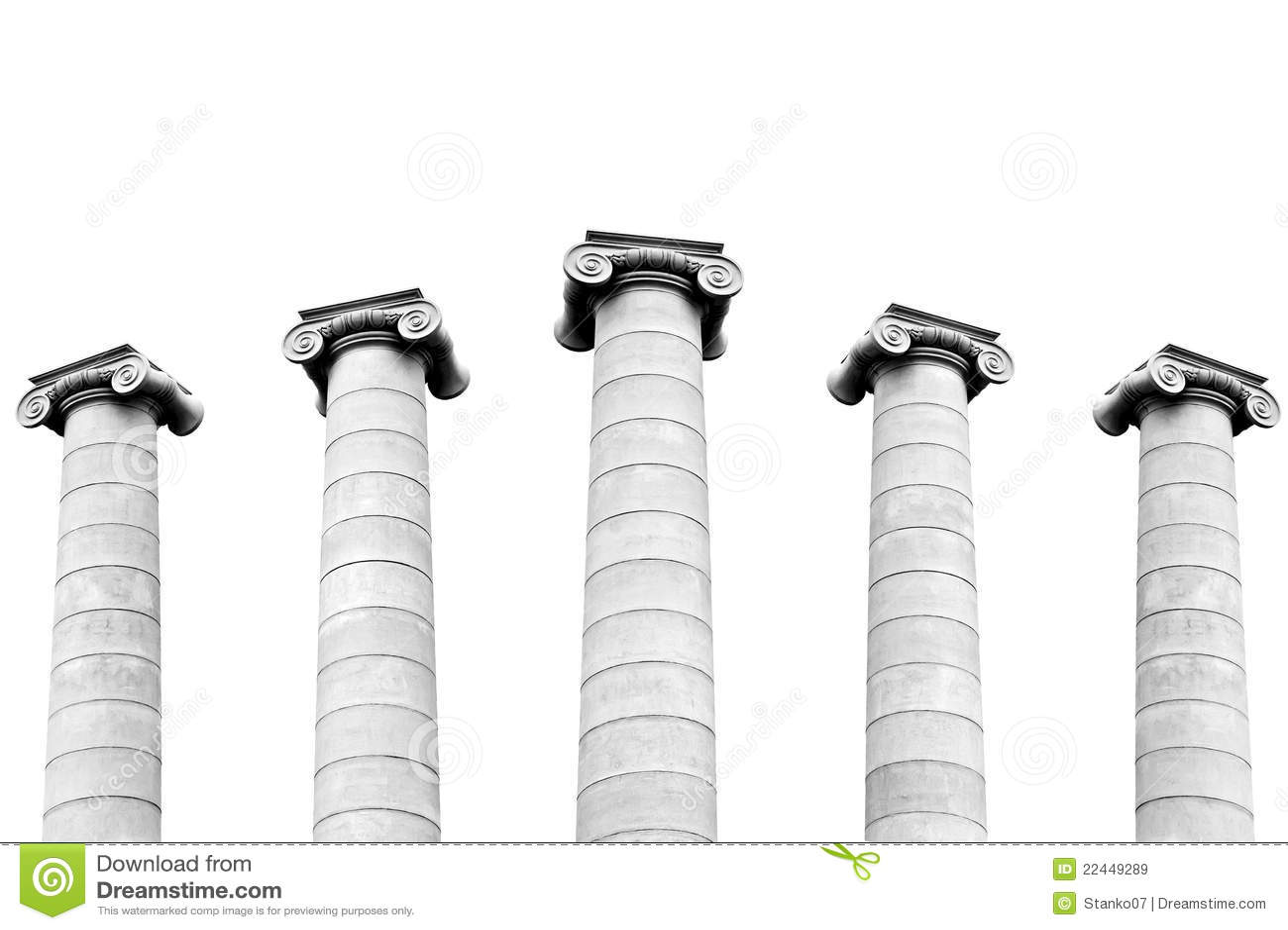 Griekse kolommen