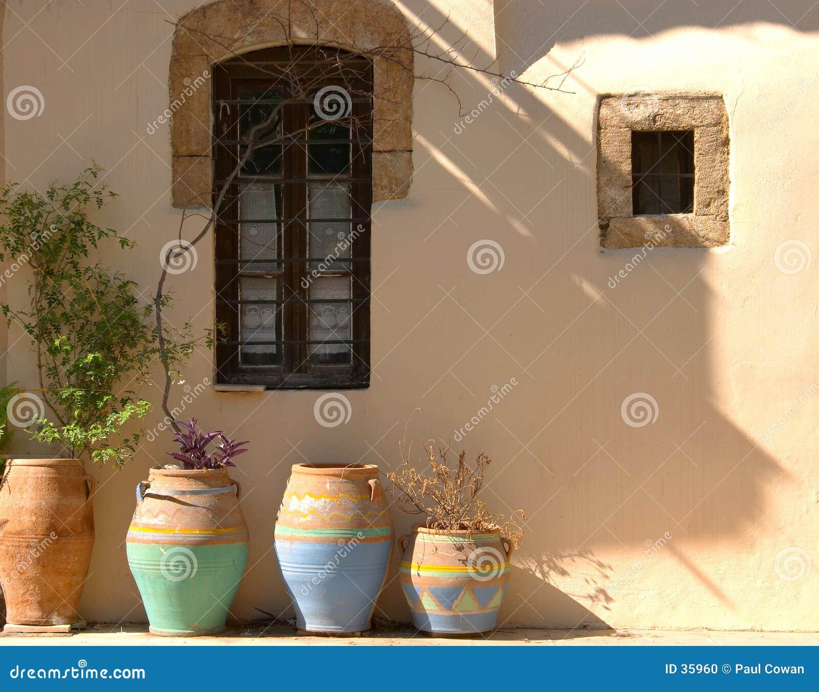 Griekse potten
