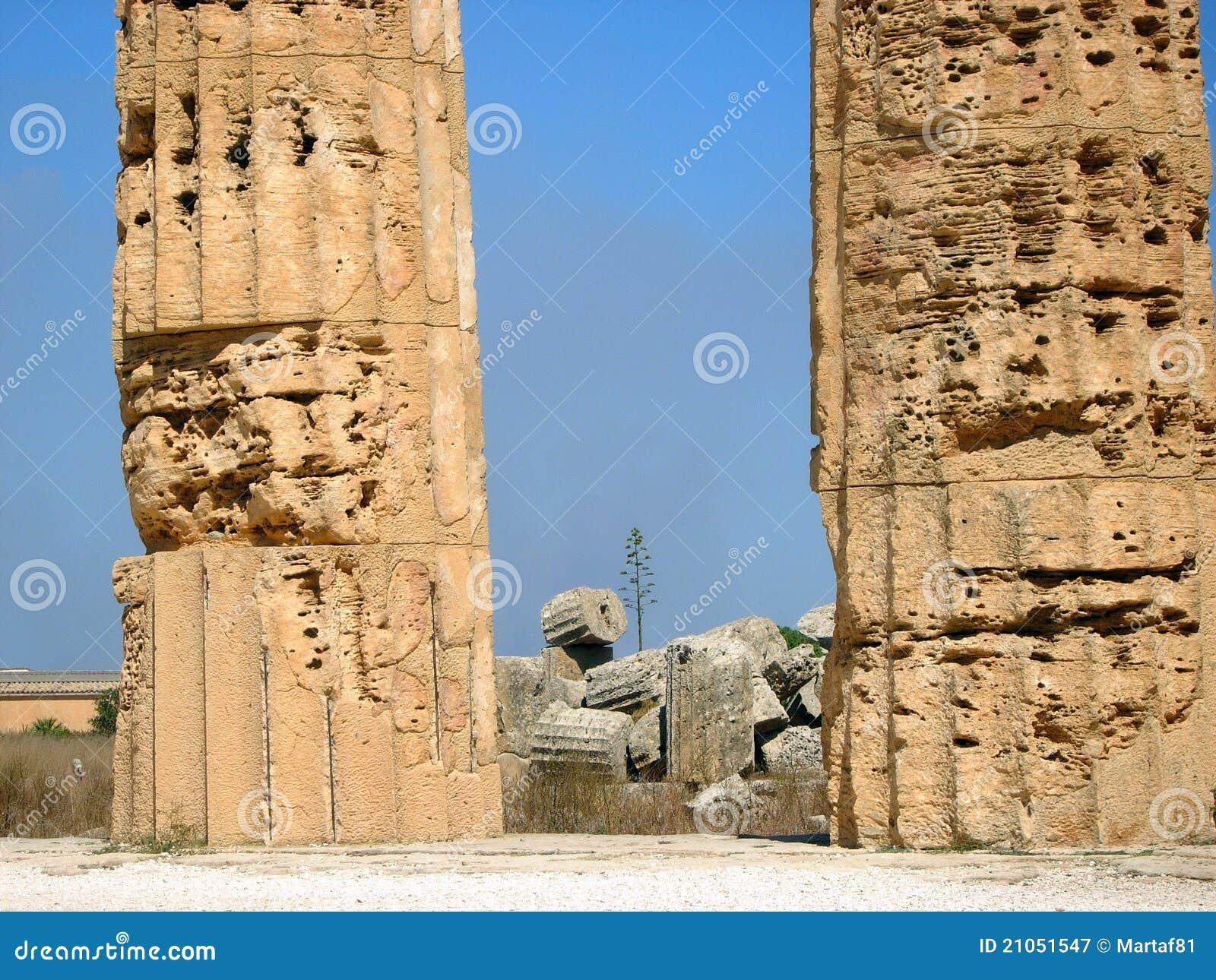 Royalty-vrije Stock Fotografie: Griekse ruïnes, de Vallei van de ...