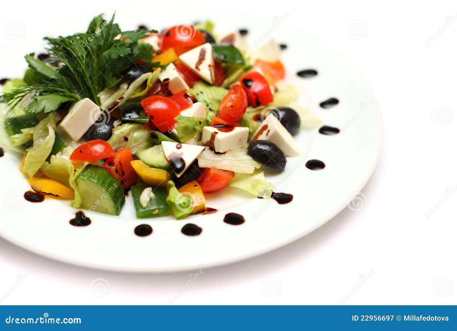 Griekse Salade - gastronomisch voedsel