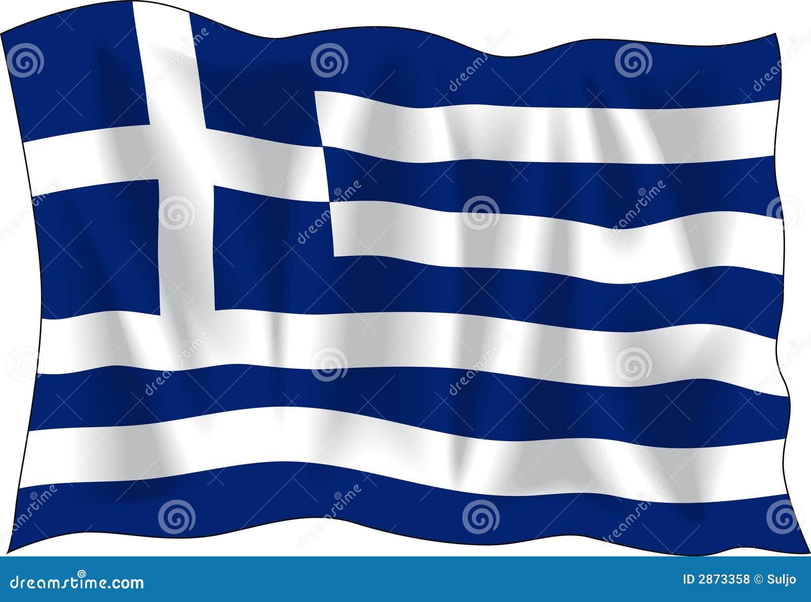 griekse vlag vector illustratie illustratie bestaande uit