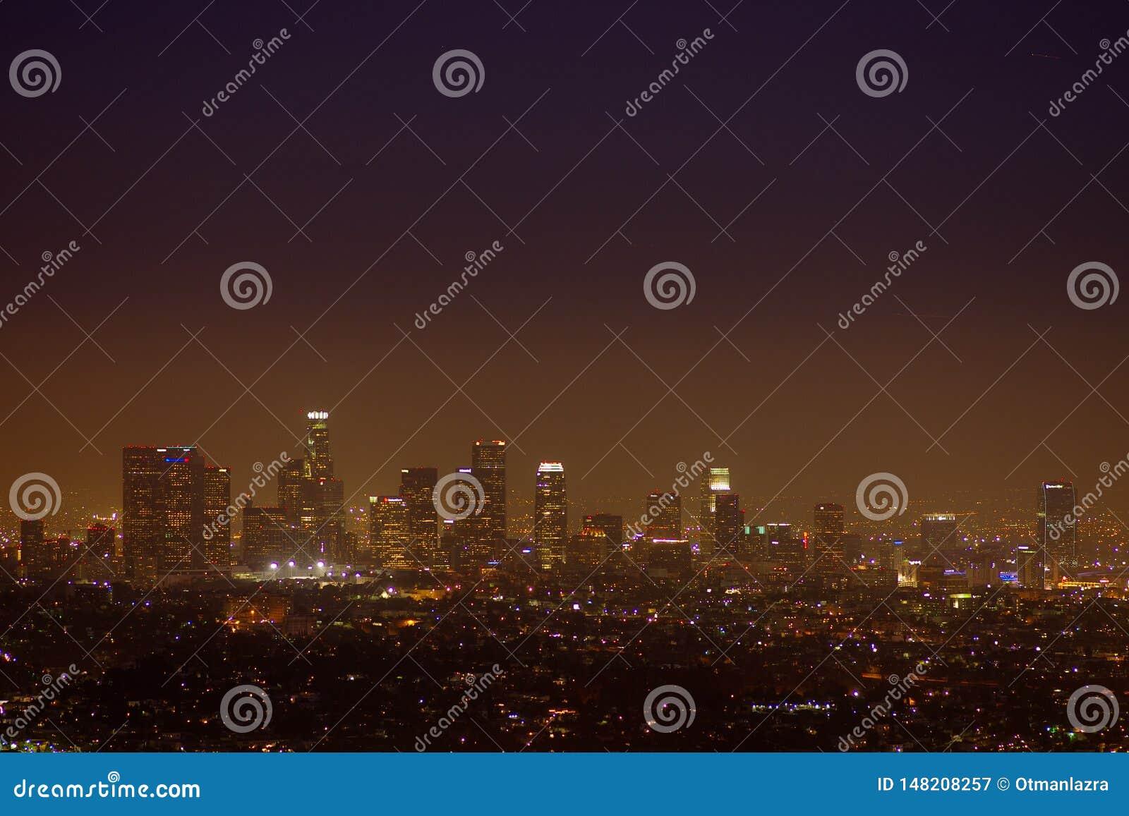 Griffin Observatory und Los Angeles