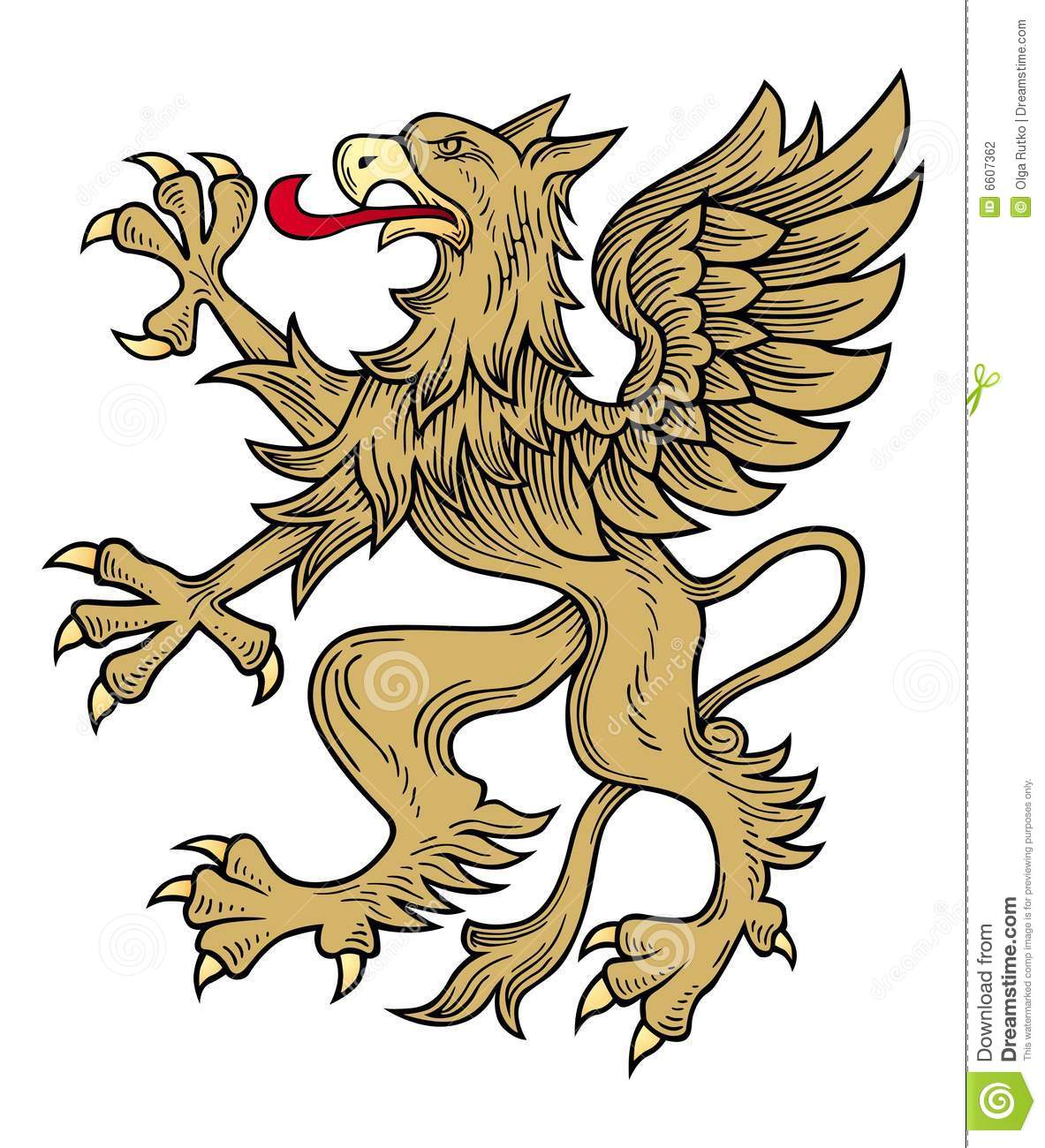 Griffin Vector Stock Photography - Image: 6607362