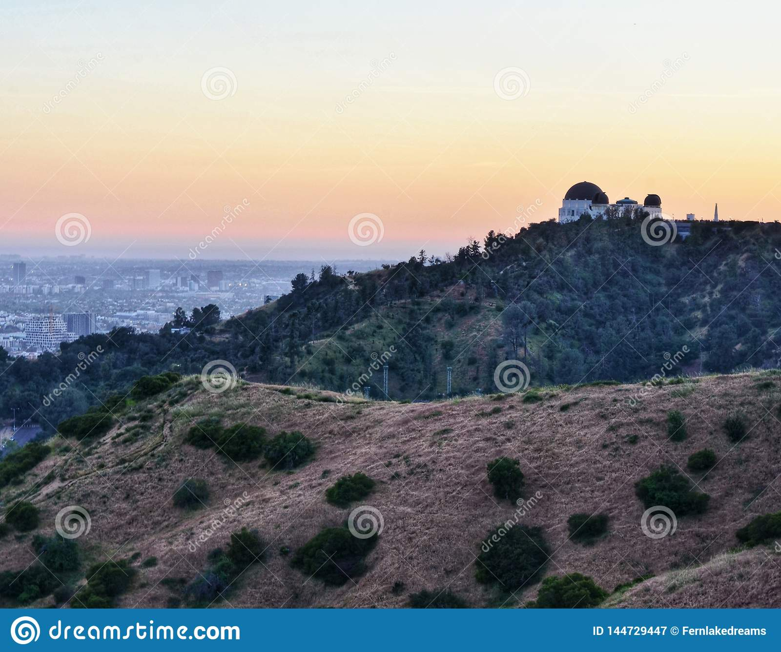 Griffith Park Observatory at Dusk
