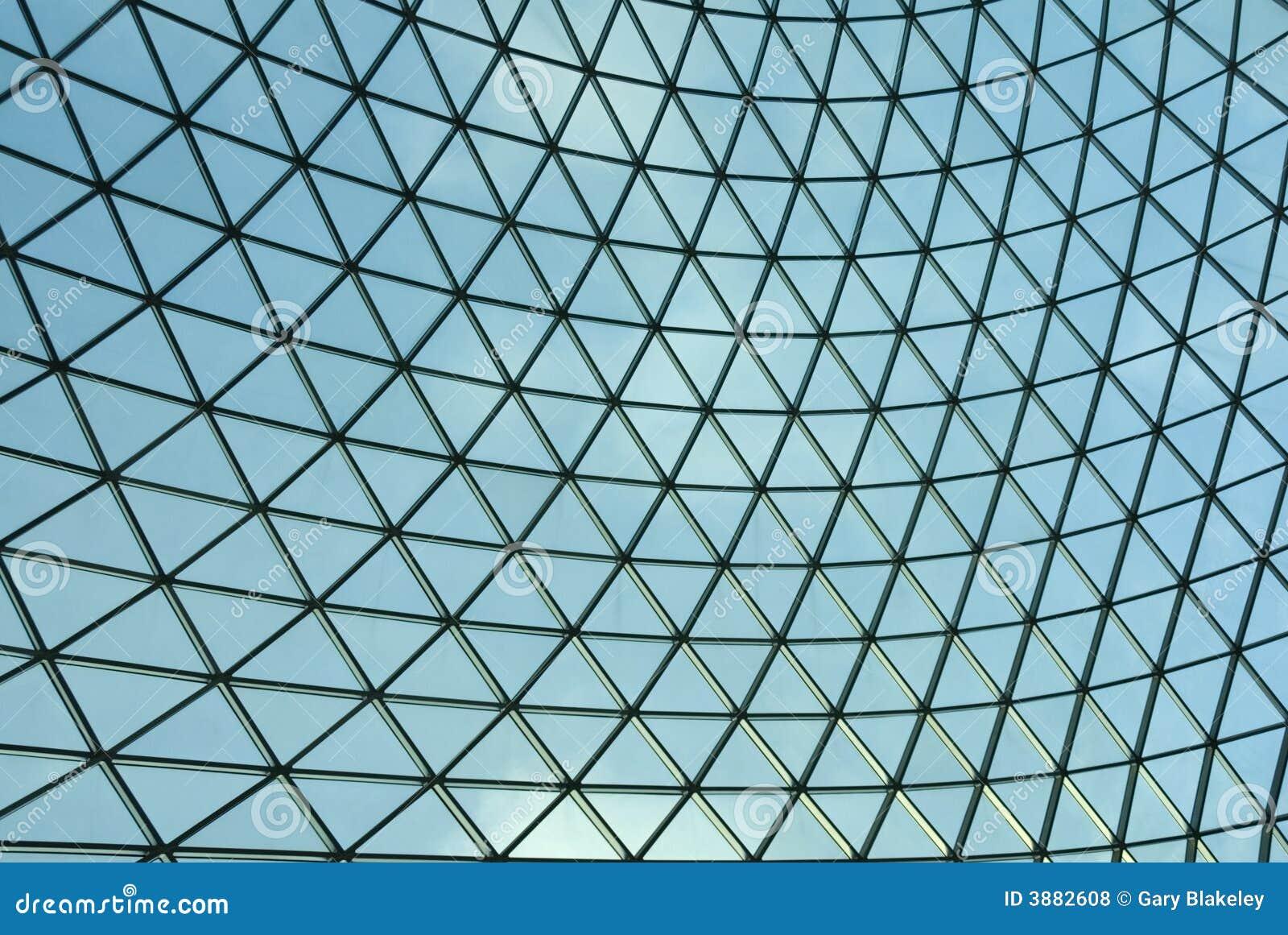 Griglia di vetro verde