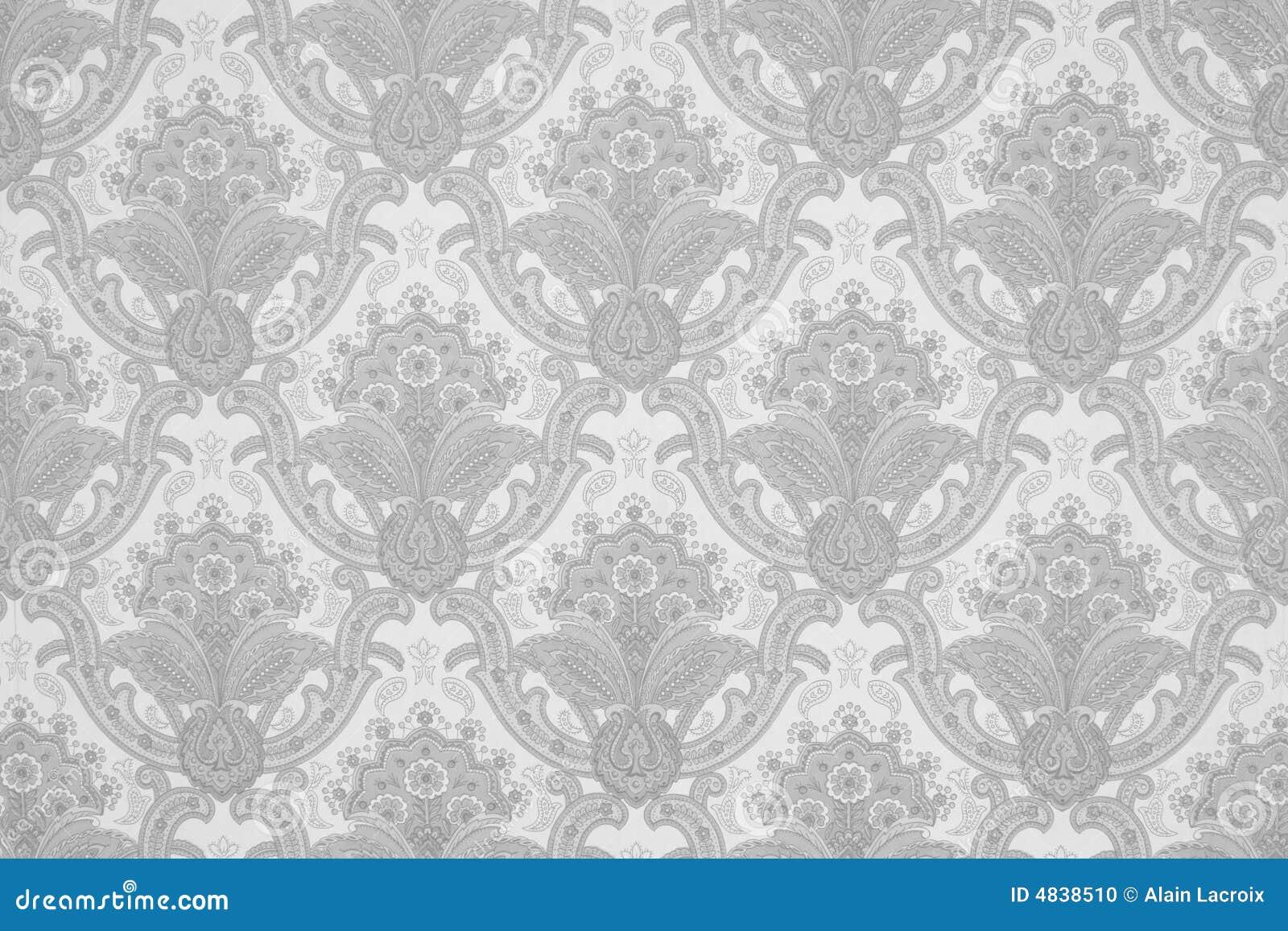 Grijs behang stock foto afbeelding 4838510 - Wit behang en grijs ...