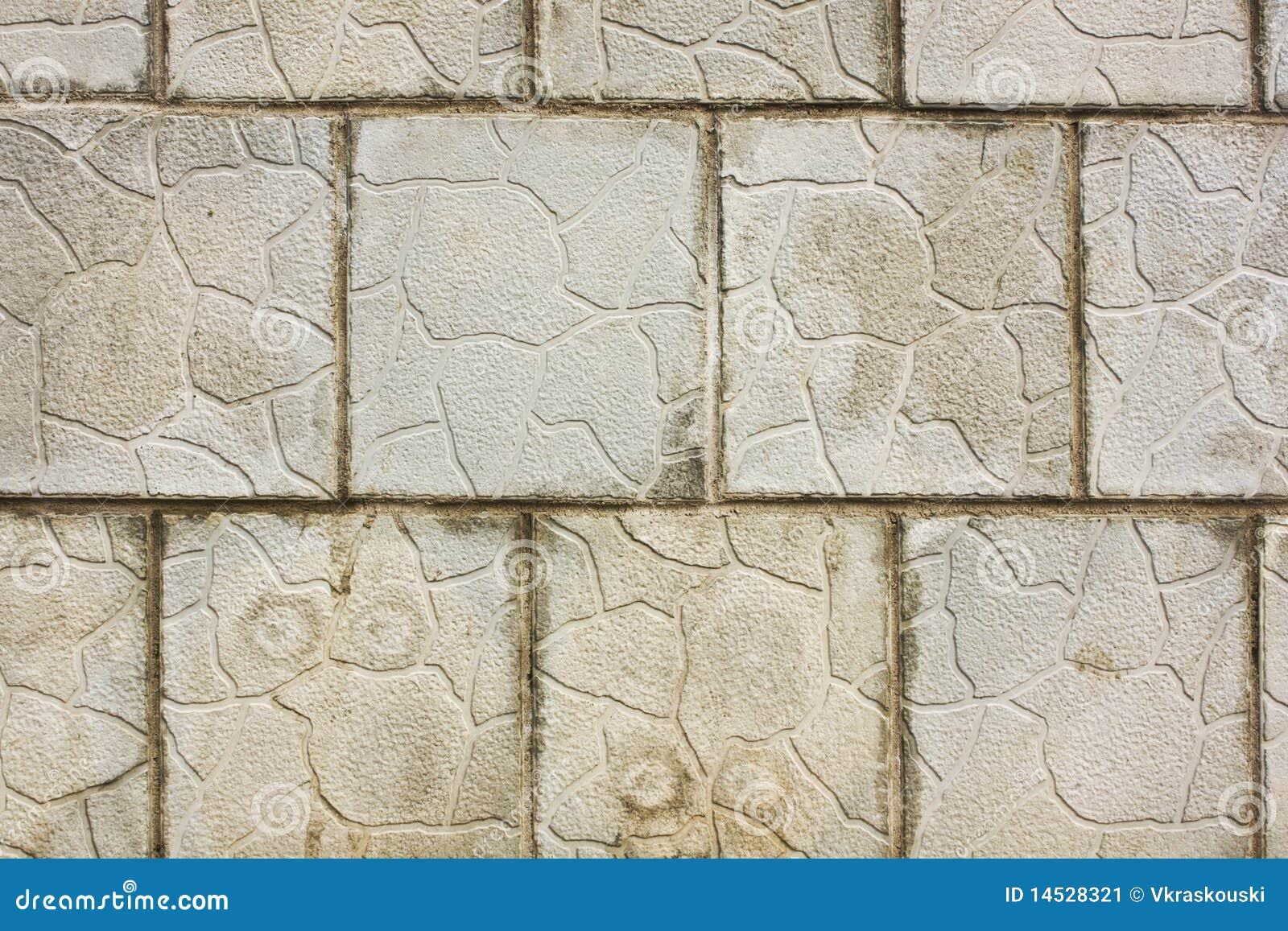 Grijze bakstenen muur stock afbeelding beeld 14528321 for Grijze muur