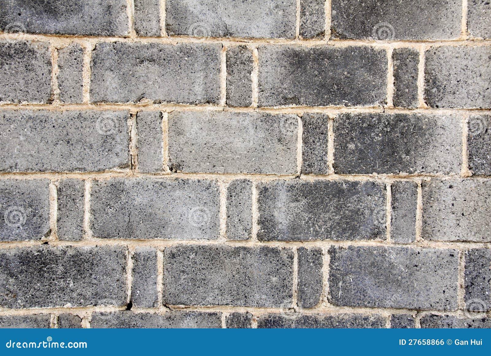 Grijze bakstenen muur royalty vrije stock afbeelding afbeelding 27658866 for Grijze muur