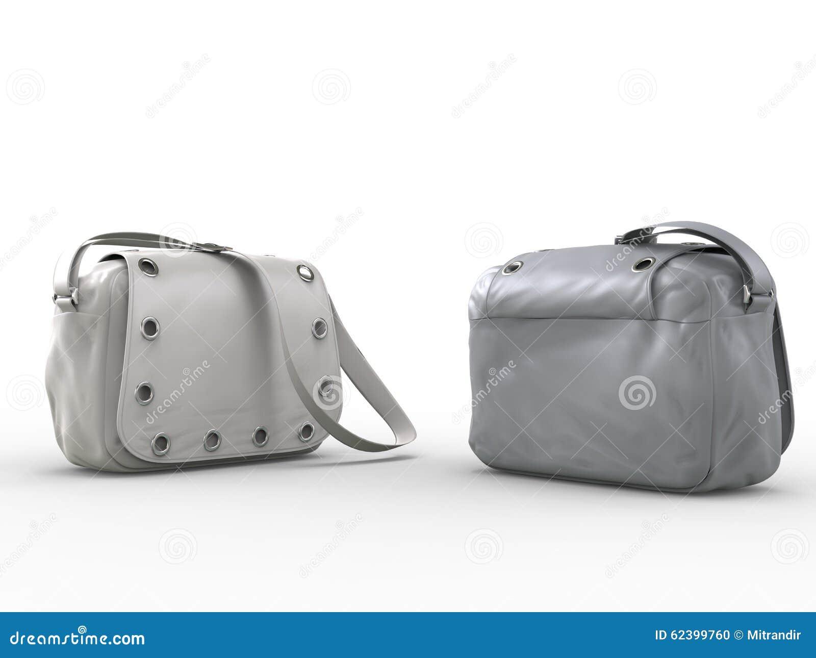 Grijze handtassen