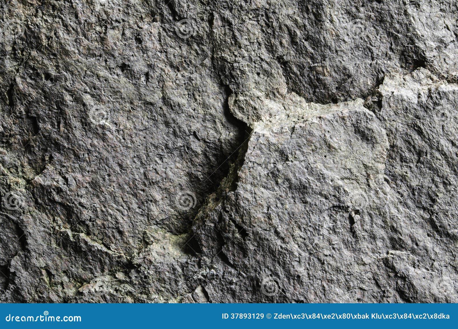 Grijze rotstextuur