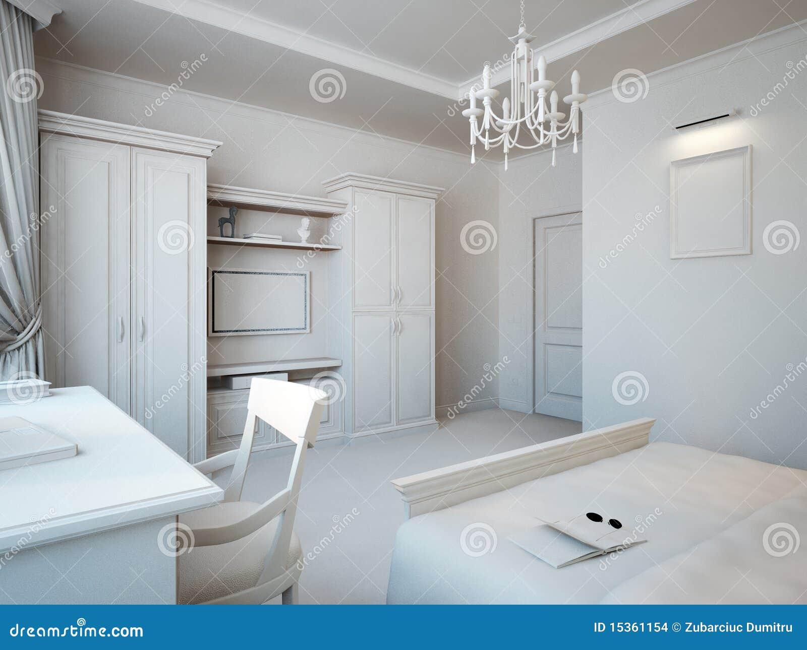 Grijze slaapkamer stock afbeeldingen afbeelding 15361154 - Grijze slaapkamer ...